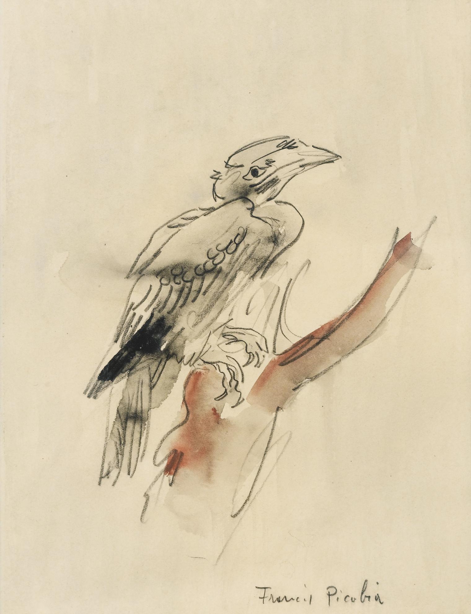 Francis Picabia-Loiseau-1940