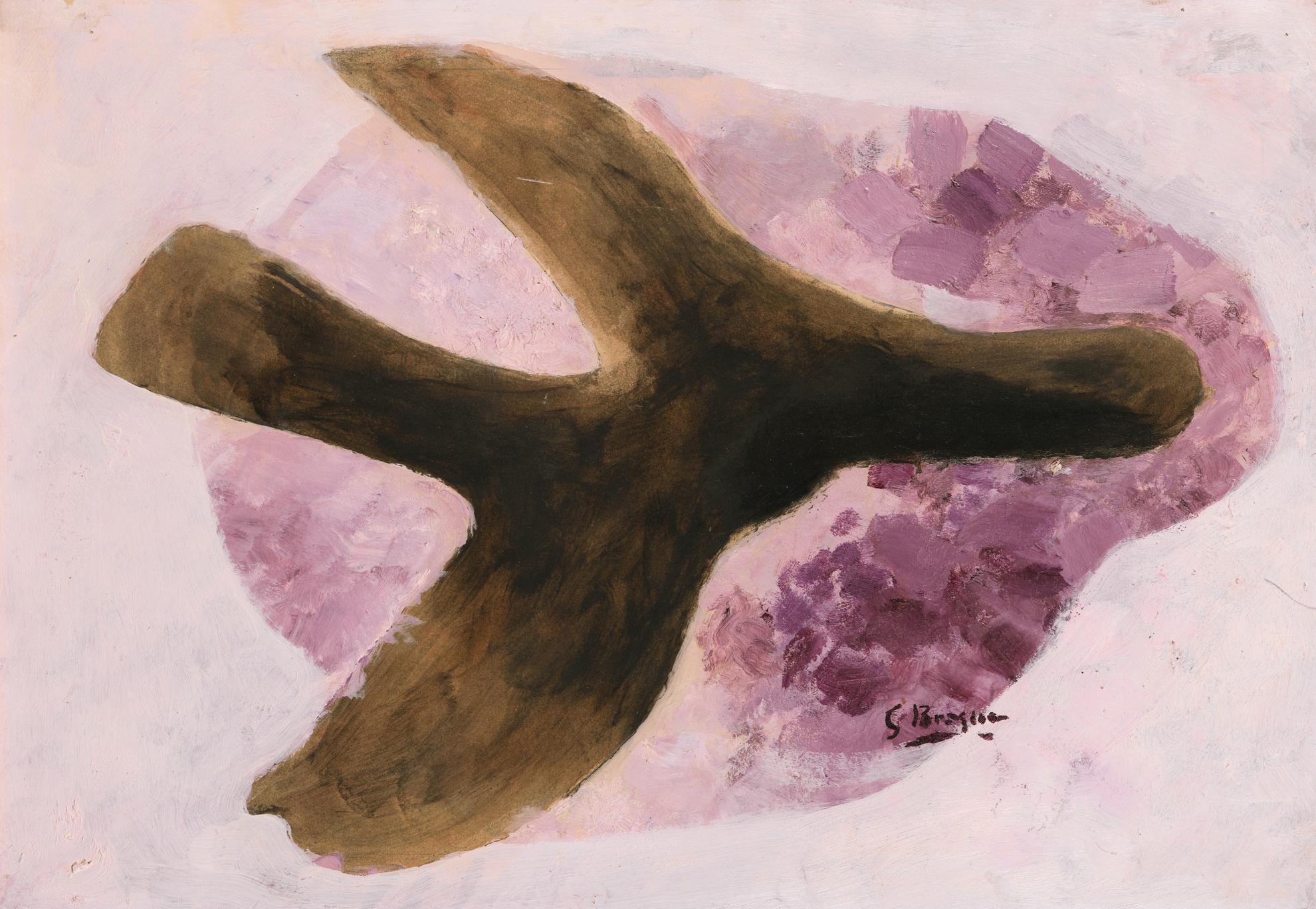 Georges Braque-Oiseau-1958