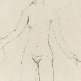 Pablo Picasso-Nu Debout-1906