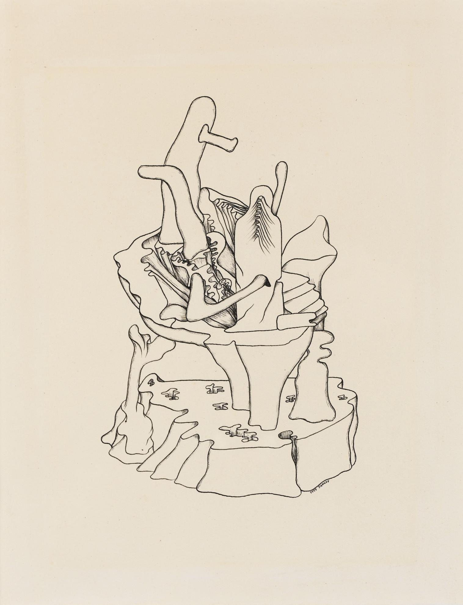 Yves Tanguy-Untitled-