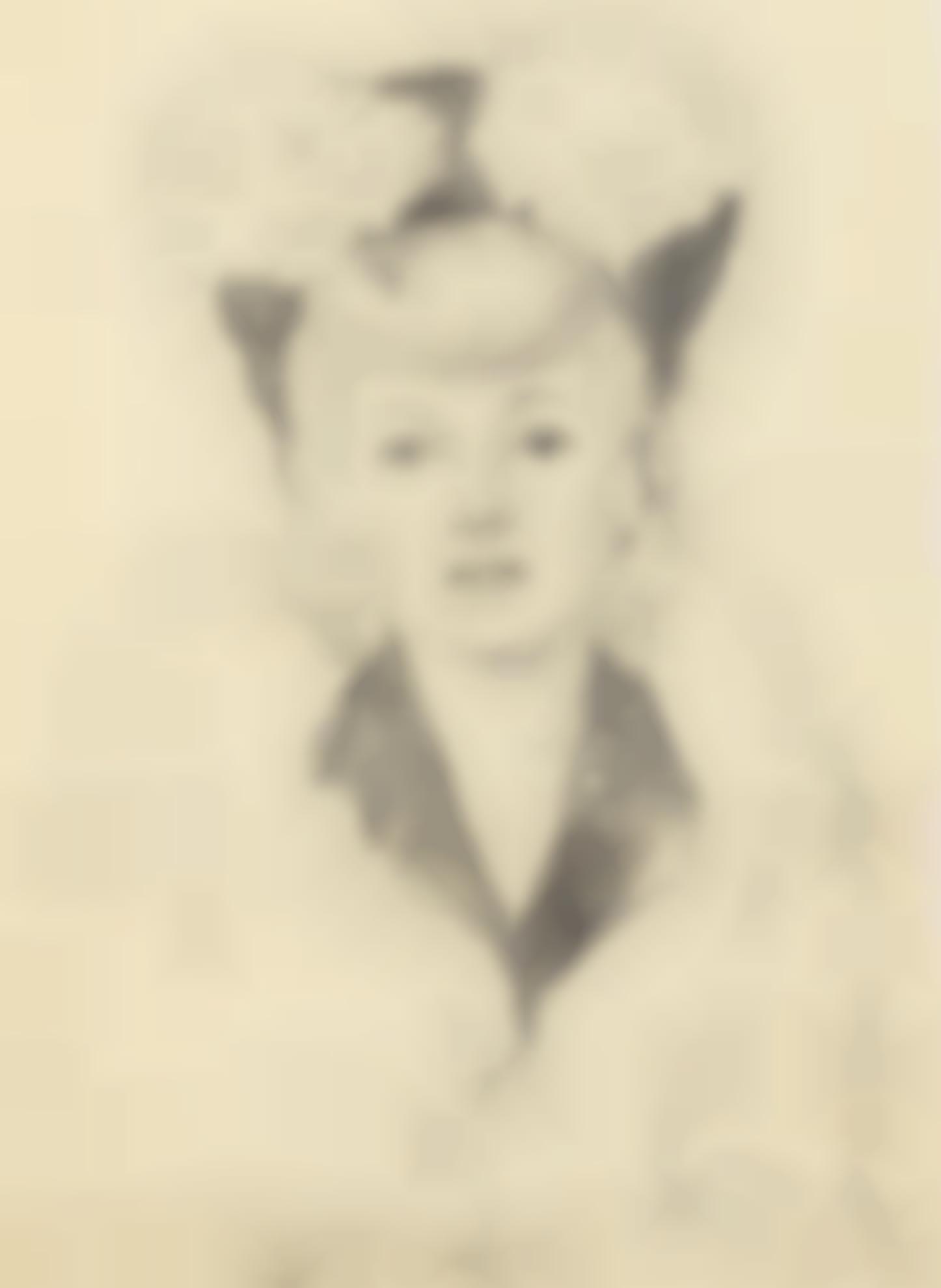 Paul Delvaux-Etude De Sacha Goemans-1945