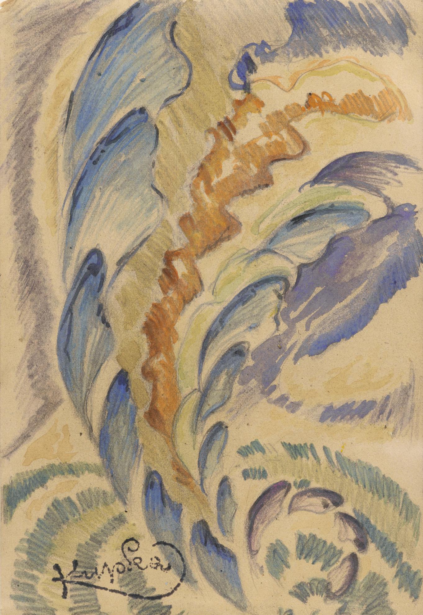 Frantisek Kupka-Composition-1920