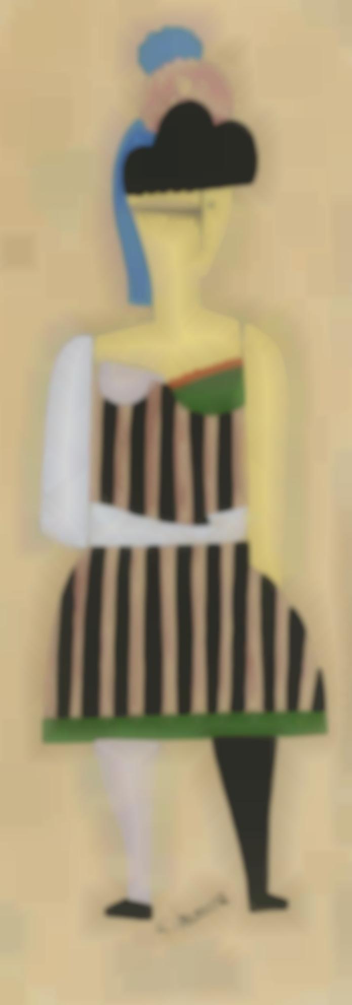 Georges Valmier-Projet De Costume (Caecilia) Pour Cyprien Ou Lamour A 18 Ans De G. Pillement-1923