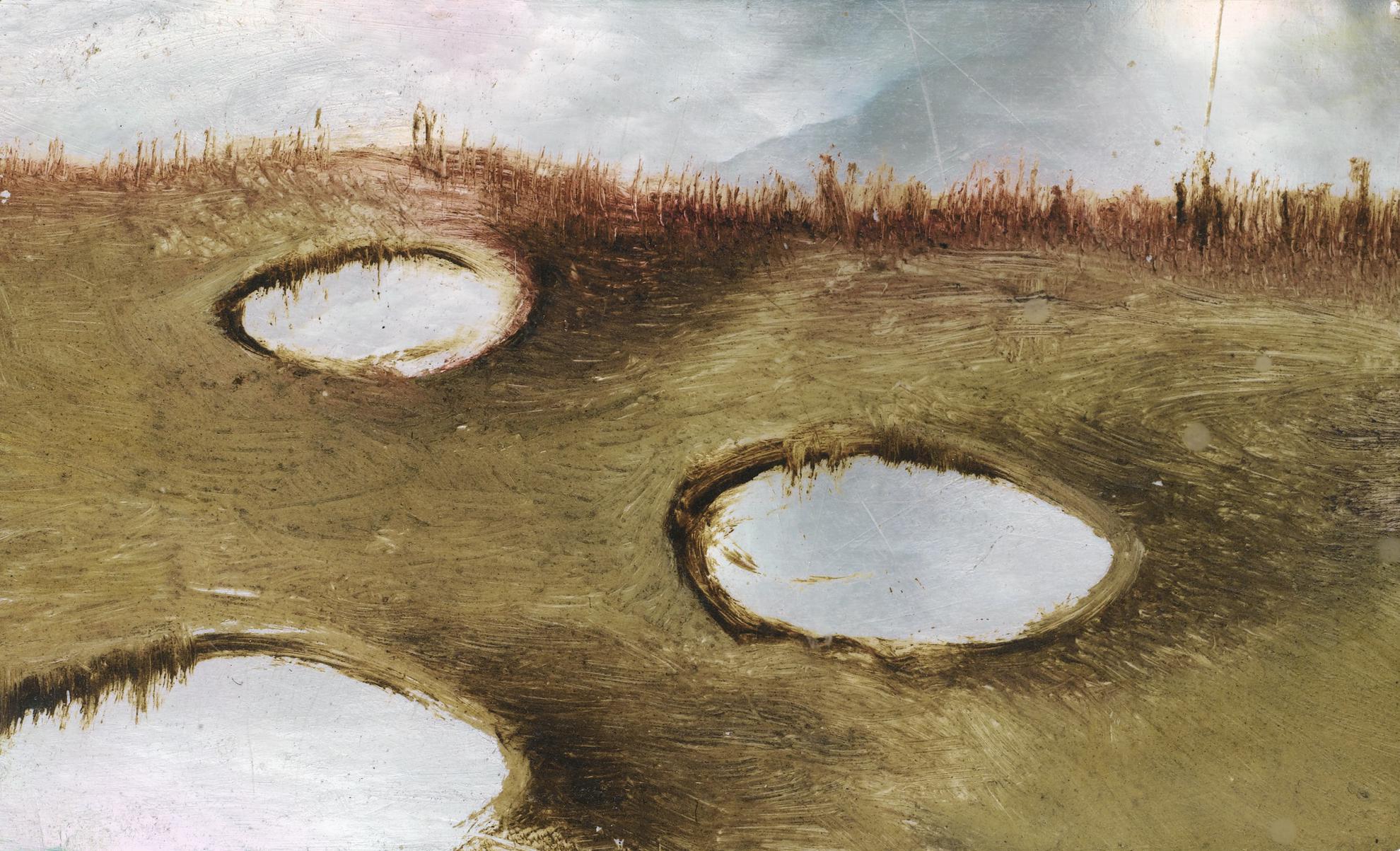 Stanilas Lepri - Paysage Surrealiste-1963