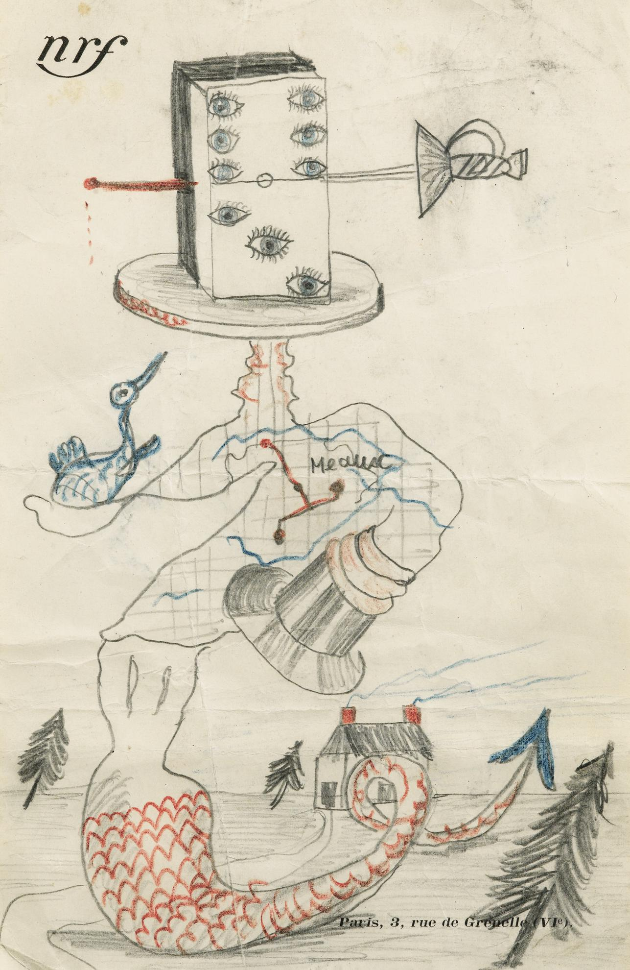 Georges Sadoul - Pseudo Cadavre Exquis-1928
