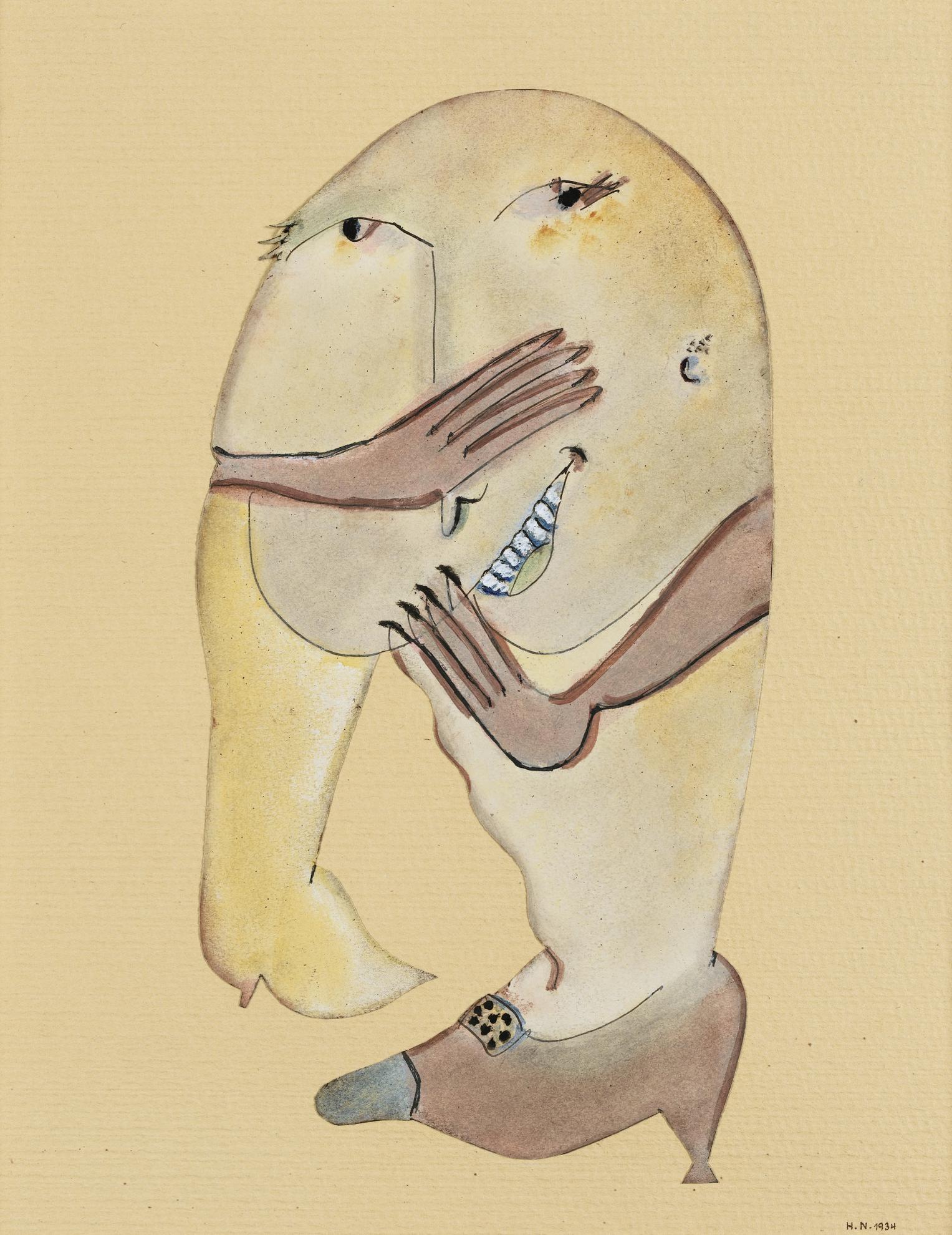 Henri Nouveau - Einfald Vom Lande-1934