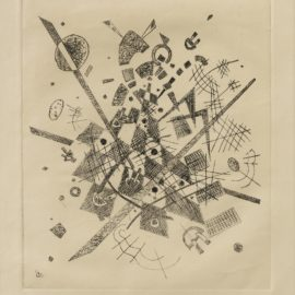 Wassily Kandinsky-Kleine Welten Ix (Roethel 172)-1922