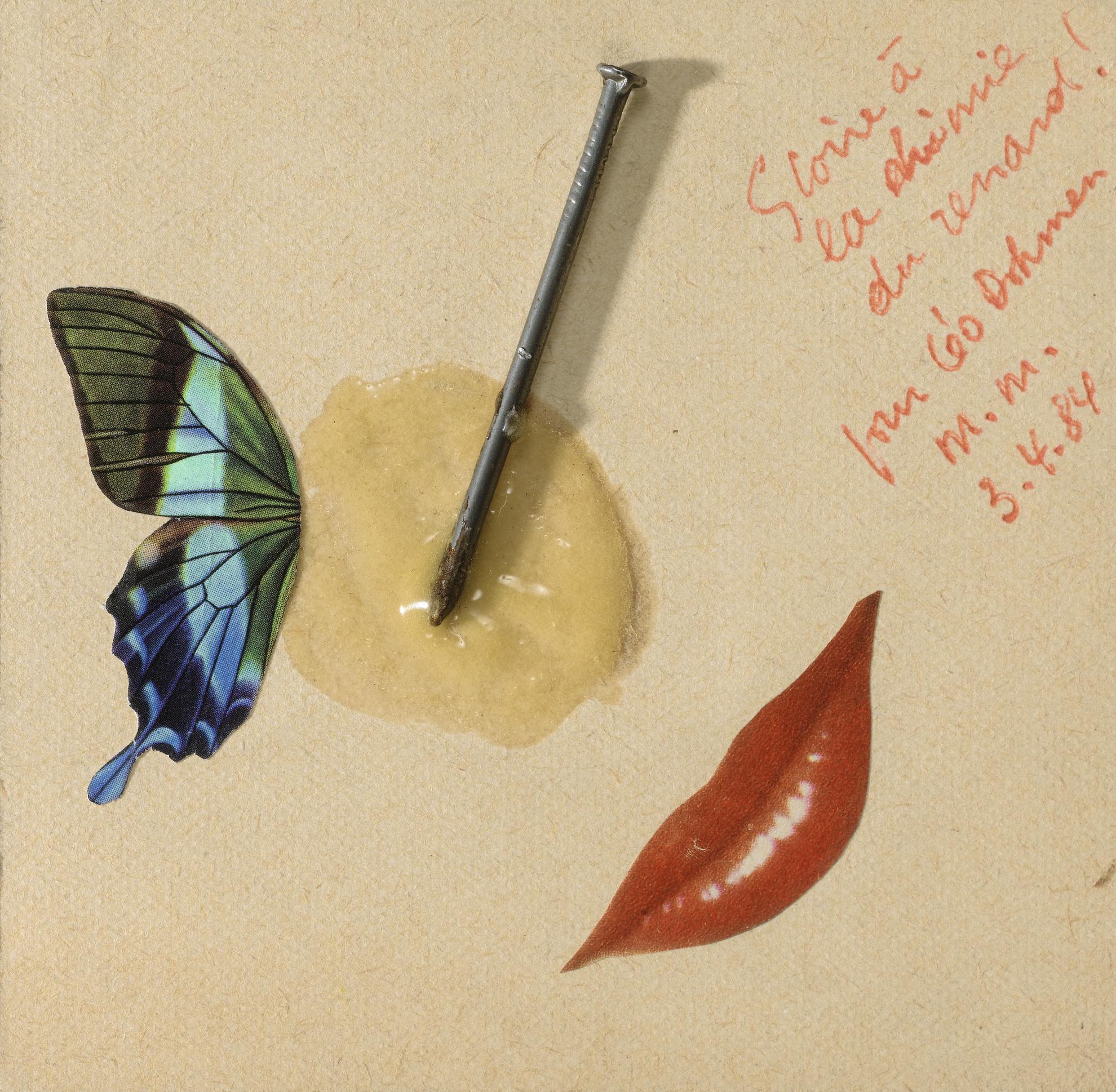 Marcel Marien - Collage-Assemblage-1984