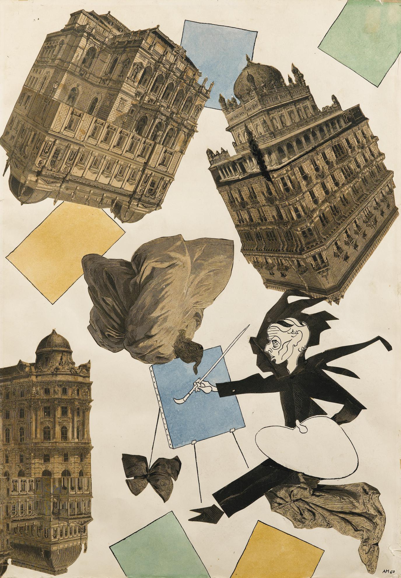 Adolf Hoffmeister - Hommage A Max Ernst-1960
