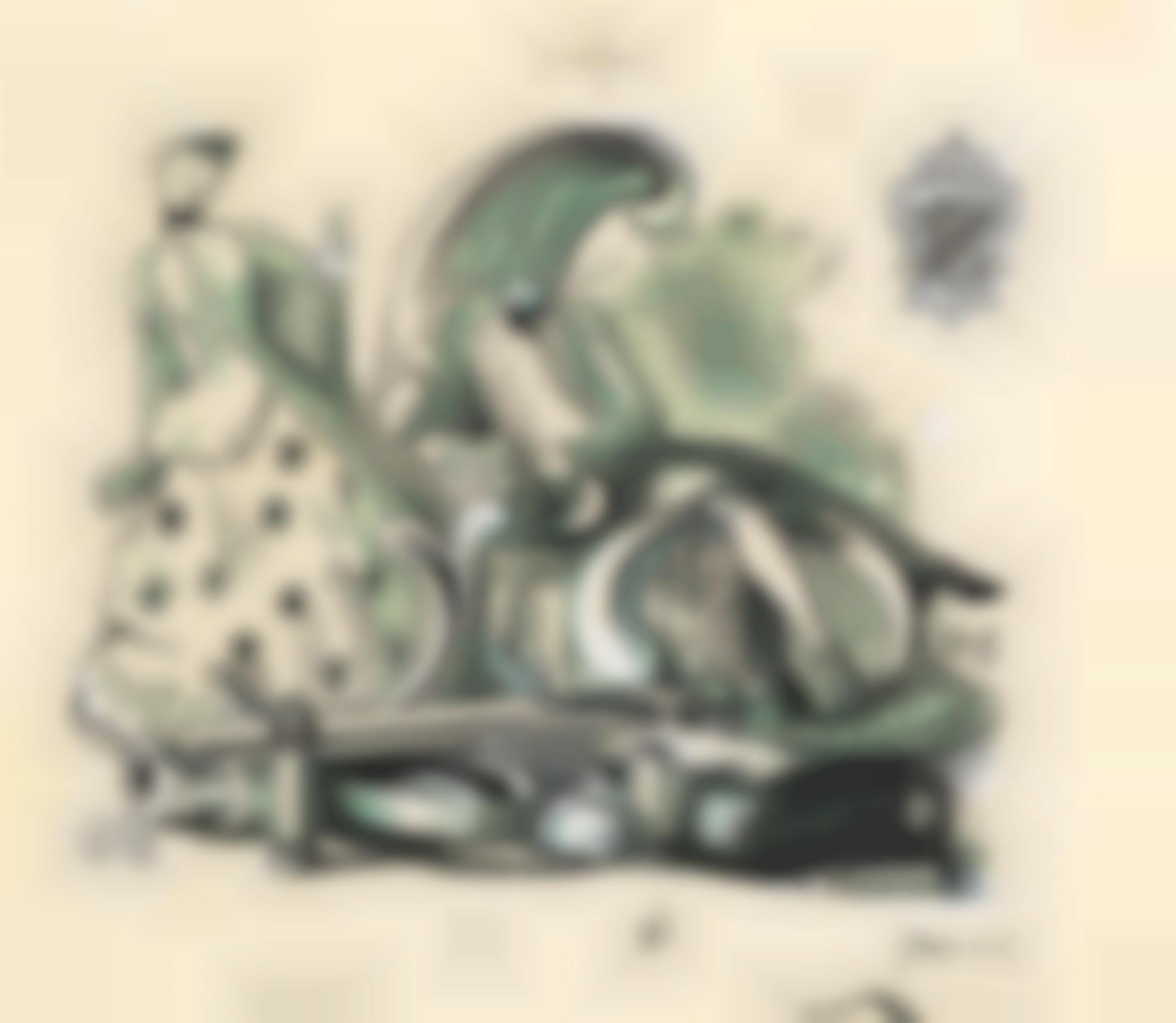 Pierre Roy - Couple Au Revolver-1944
