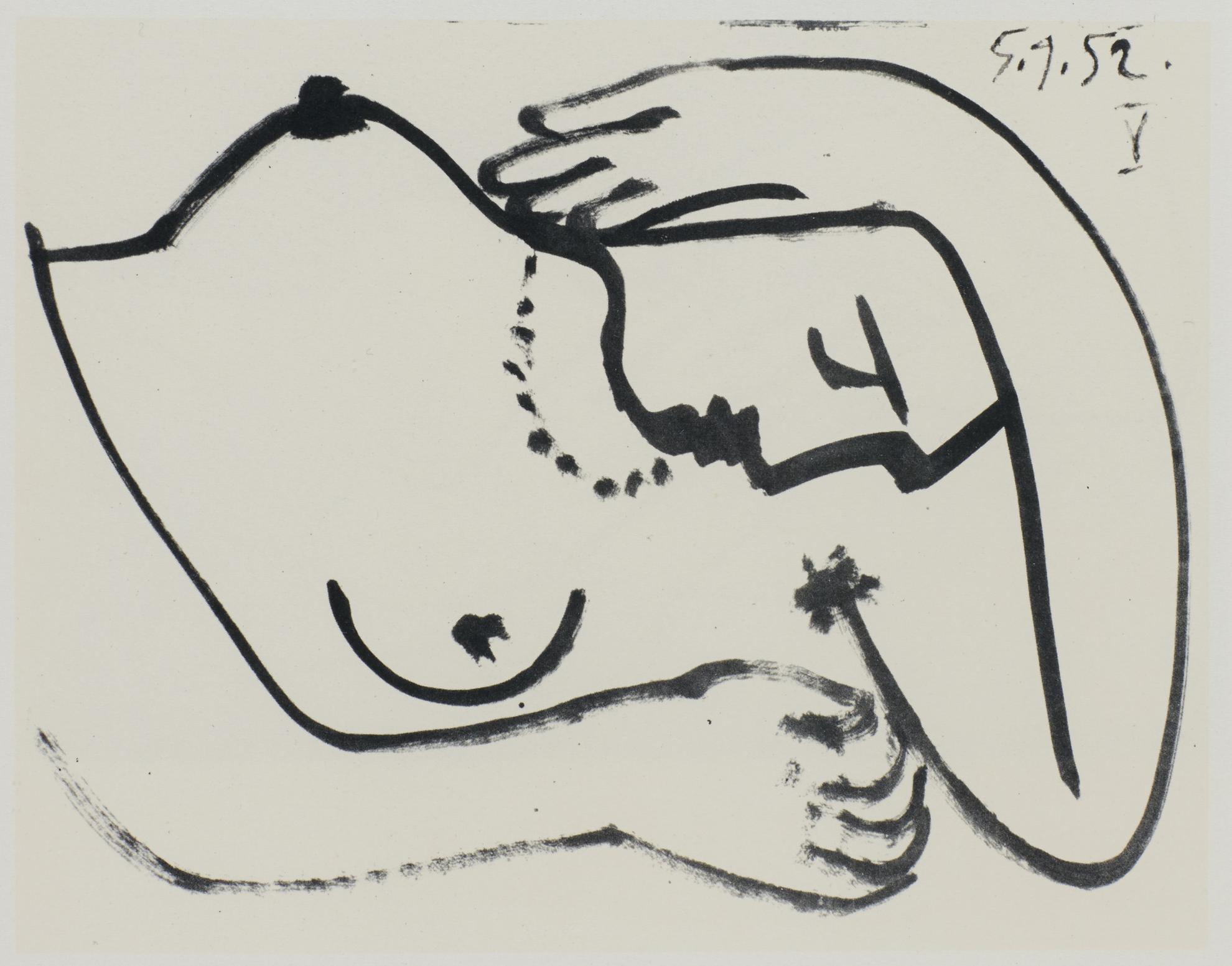 Pablo Picasso-La Guerre Et La Paix (C. Bks 67)-1954