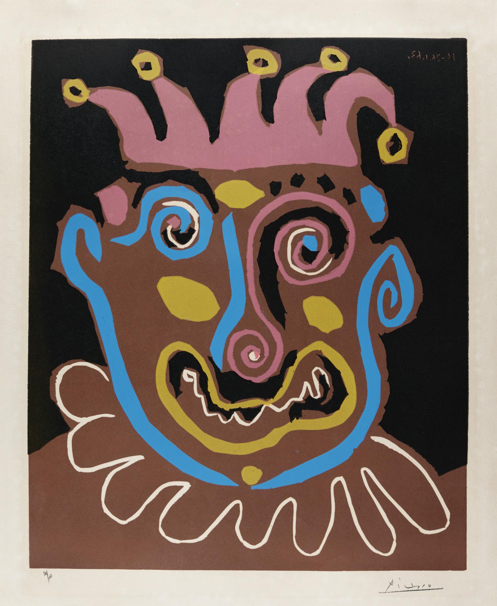Pablo Picasso-Le Vieux Roi (B. 1152; Ba. 1338; Pp. L-162)-1963