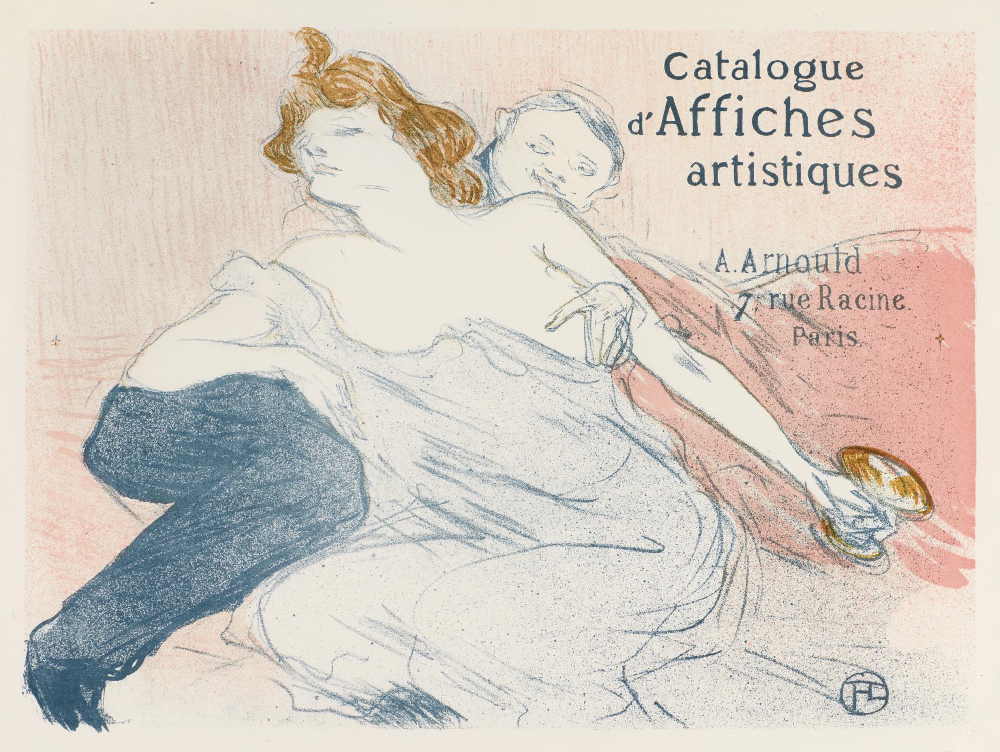 Henri de Toulouse-Lautrec-Debauche (Deuxieme Planche) (W. 167; D. 102; Adr. 115)-1896