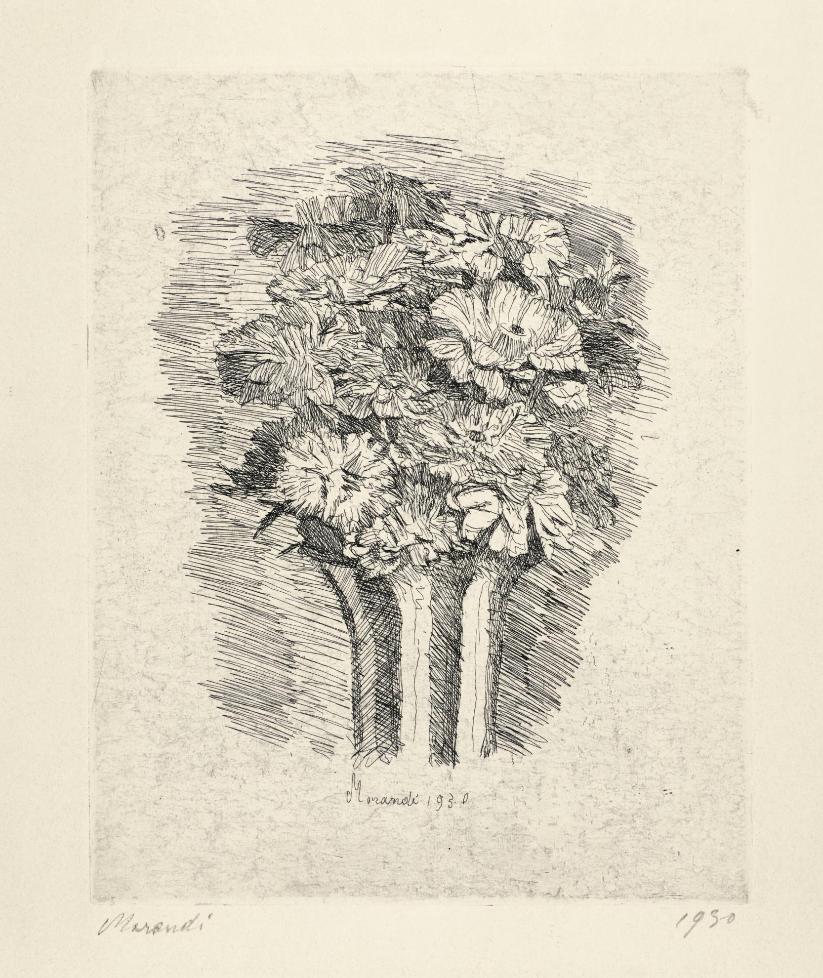 Giorgio Morandi-Zinnie (V. 72)-1930