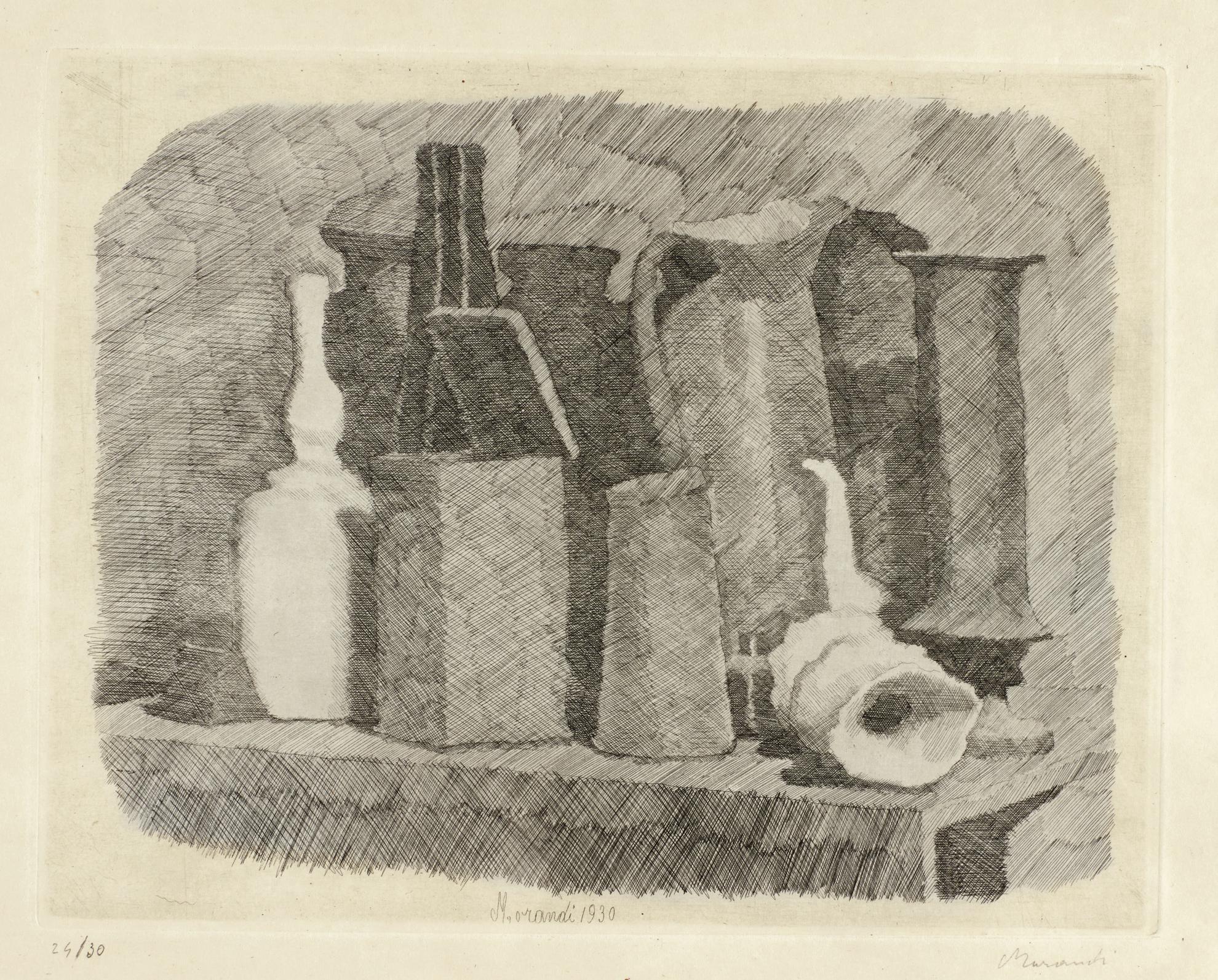 Giorgio Morandi-Natura Morta (V. 73)-1930