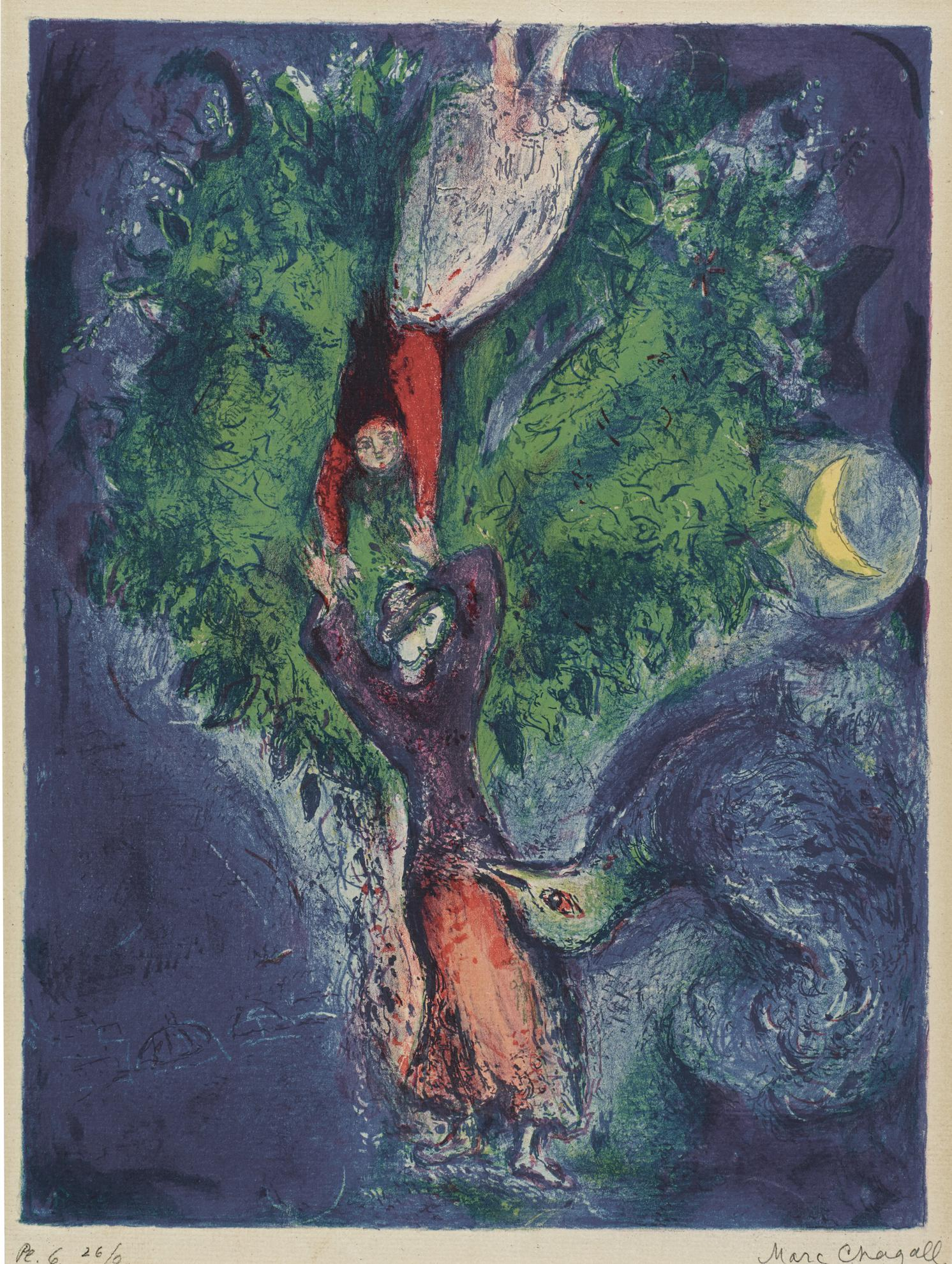 Marc Chagall-Untitled (M. 41)-1948