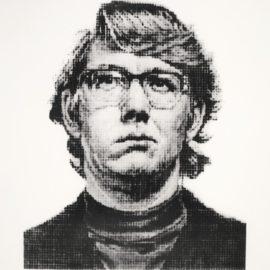 Chuck Close-Keith Iv - State II-1975