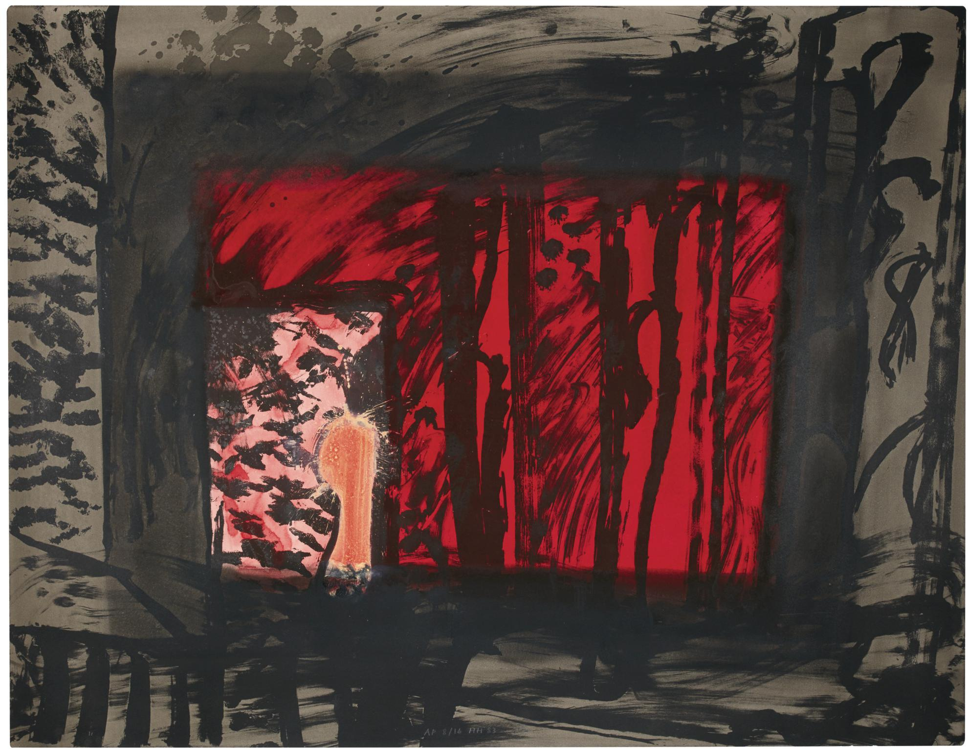 Howard Hodgkin-Blood (Heenk 69)-1985