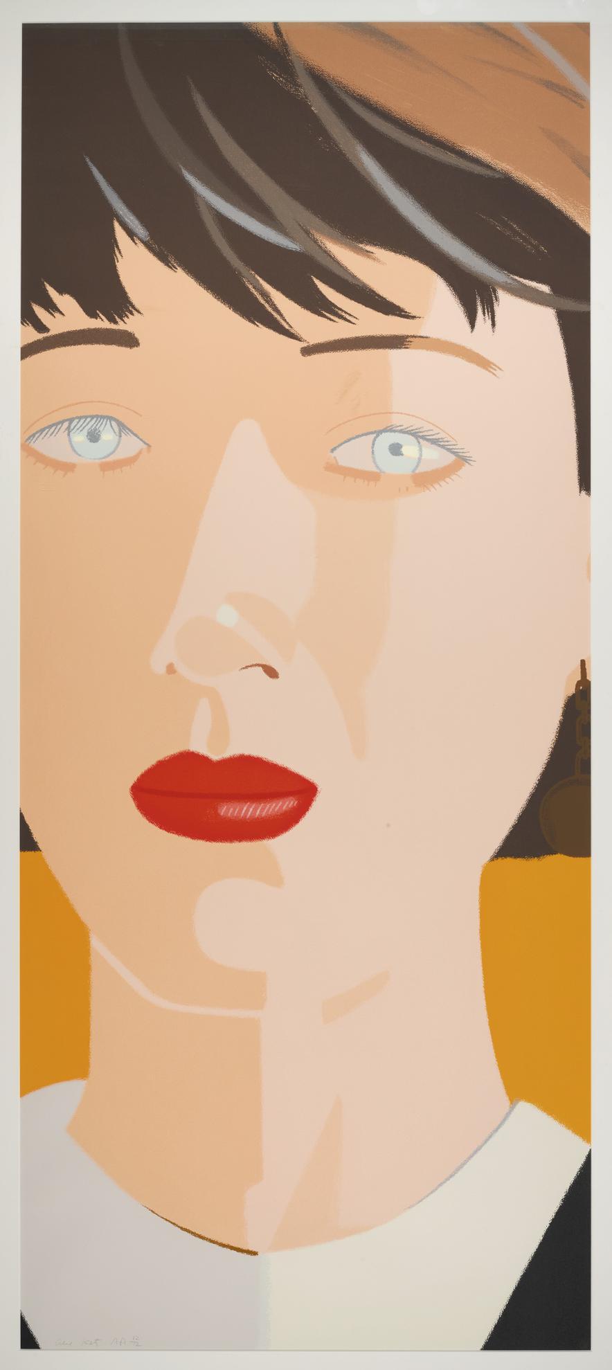 Alex Katz-Samantha (Schroder 58)-1987