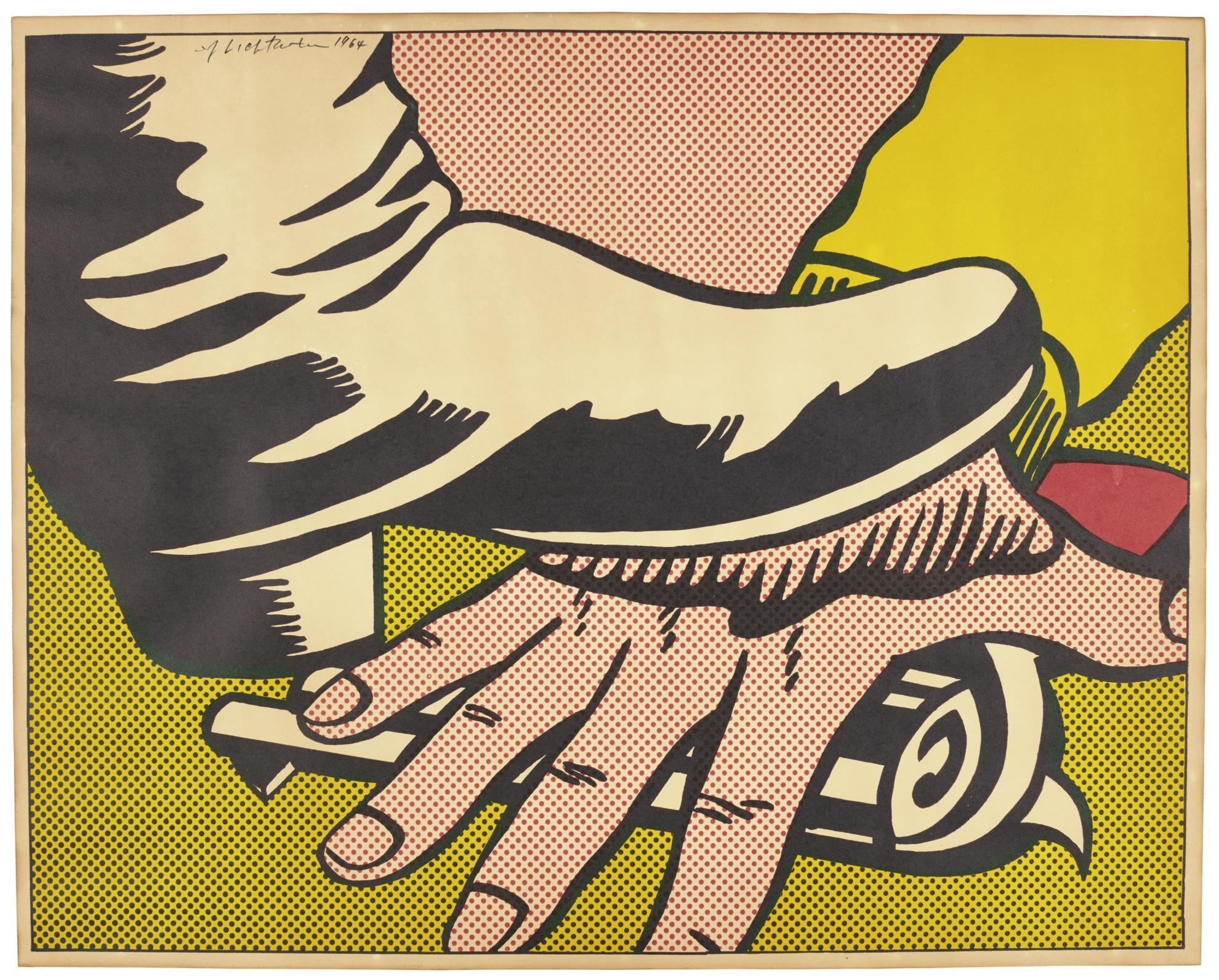 Roy Lichtenstein-Foot And Hand (Corlett II.4)-1964