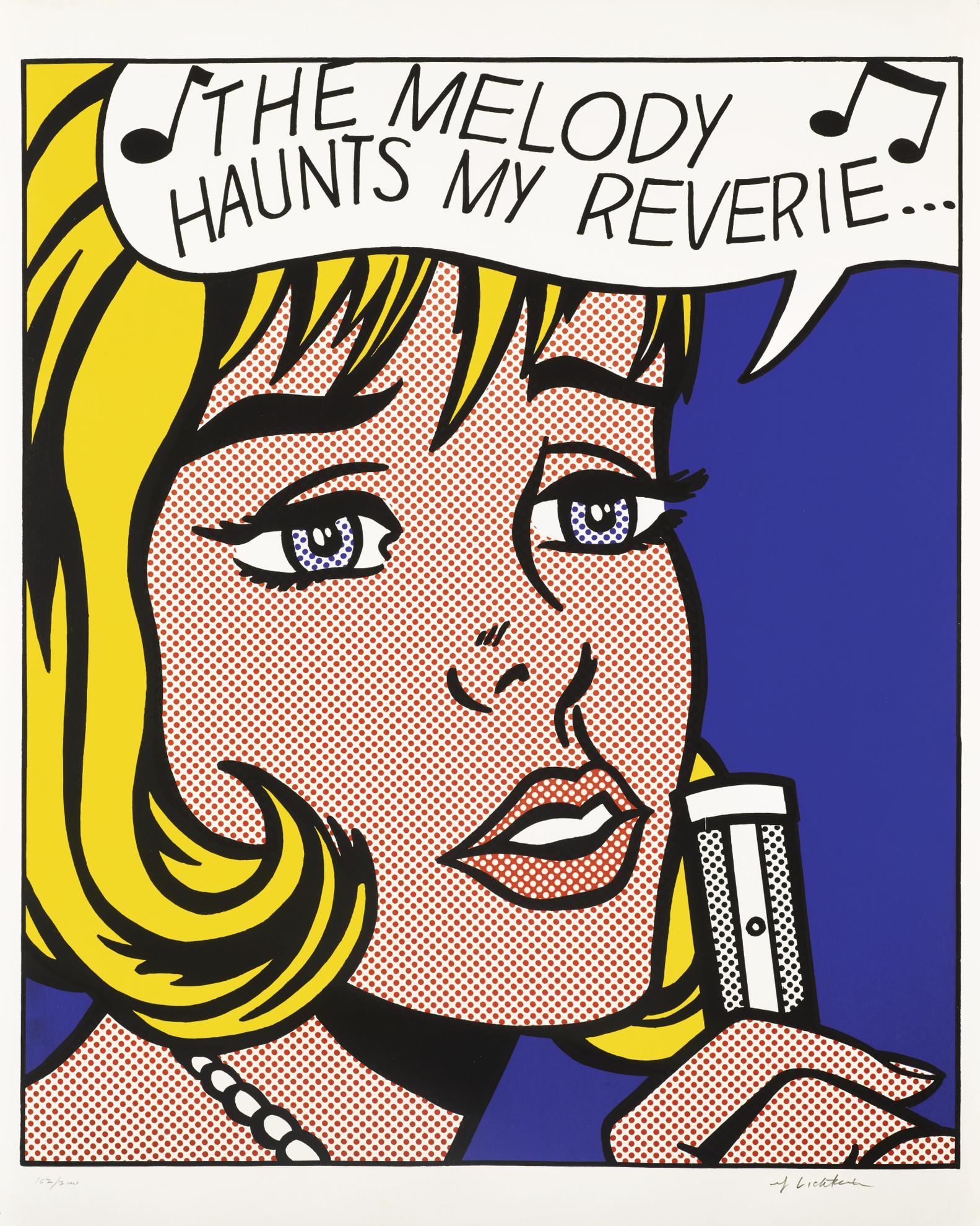 Roy Lichtenstein-Reverie (C. 38)-1965