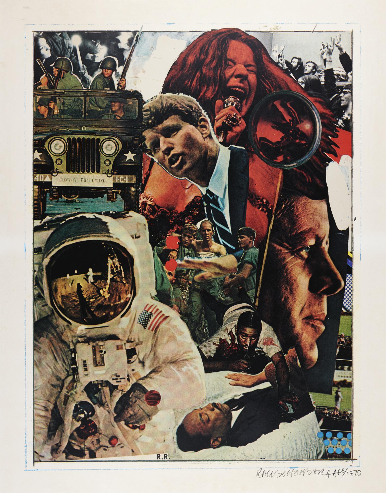 Robert Rauschenberg-Signs (Foster 155)-1970