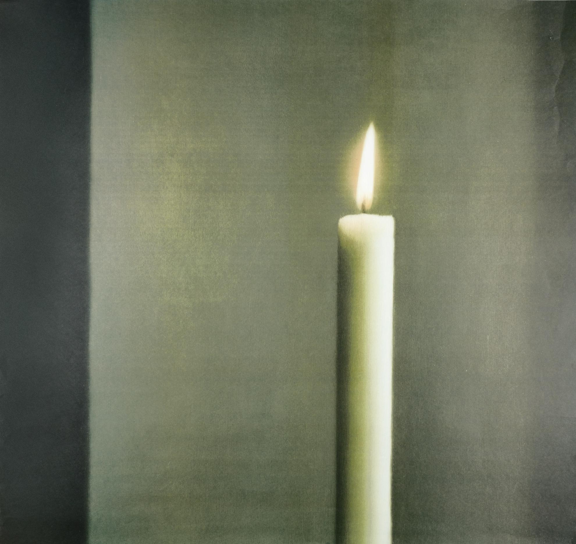 Gerhard Richter-Kerze I (Candle I) (Butin 64)-1988