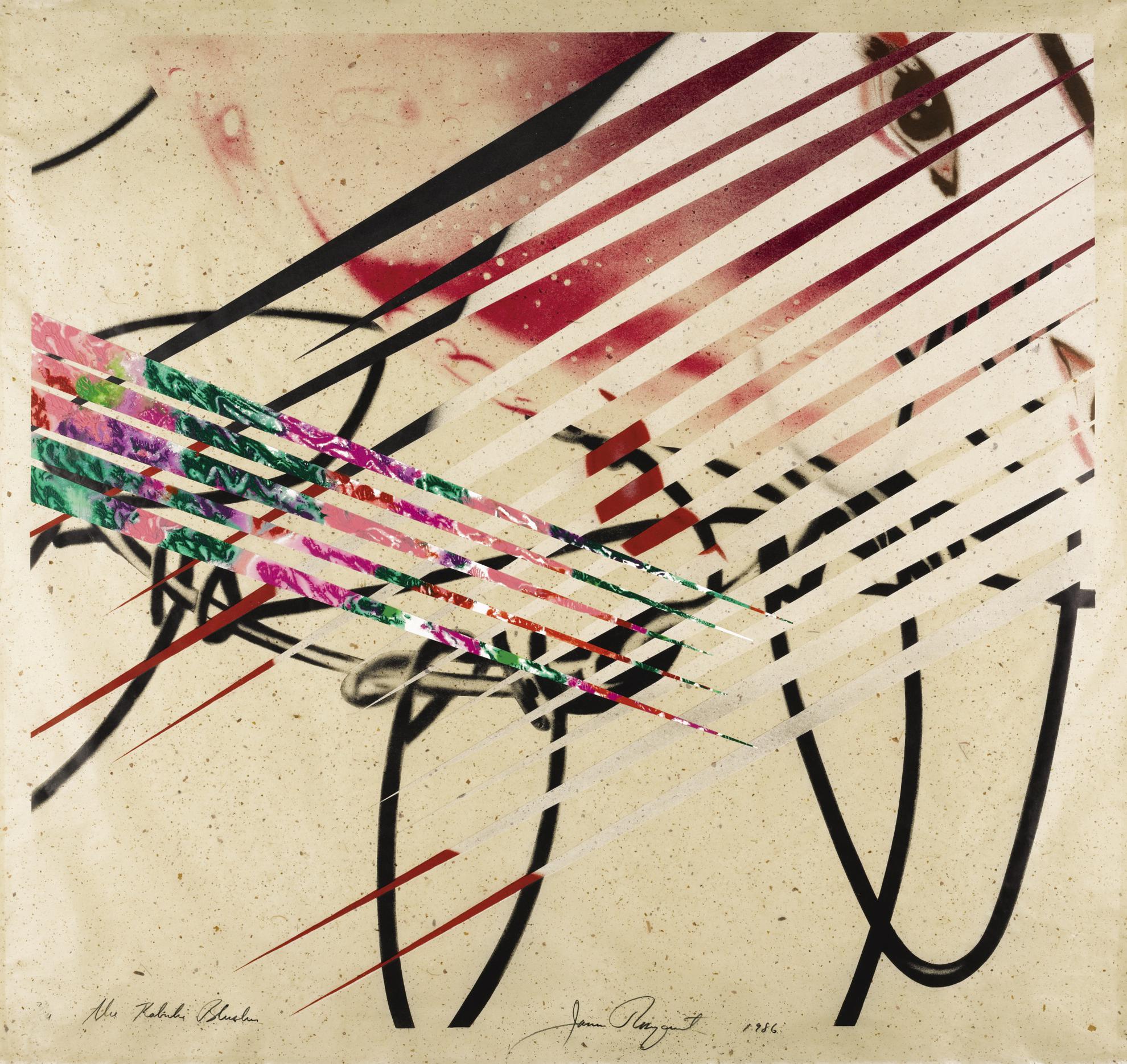 James Rosenquist-The Kabuki Blushes (G. 206)-1986