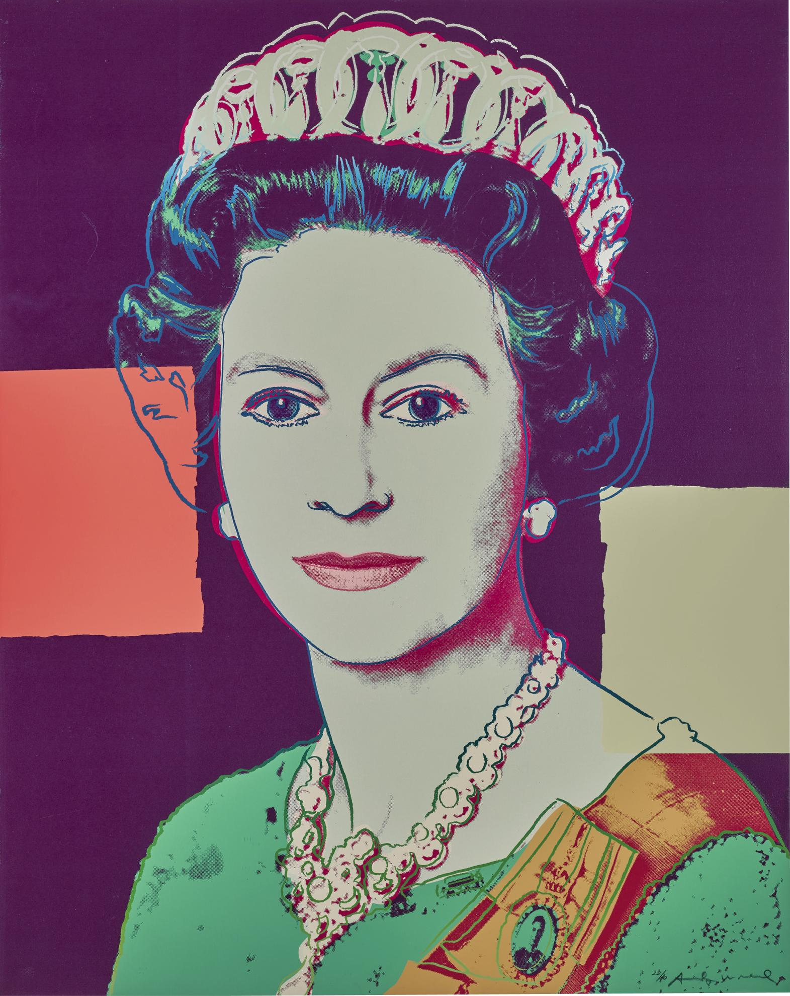 Andy Warhol-Queen Elizabeth II Of The United Kingdom (F. & S. II.335)-1986