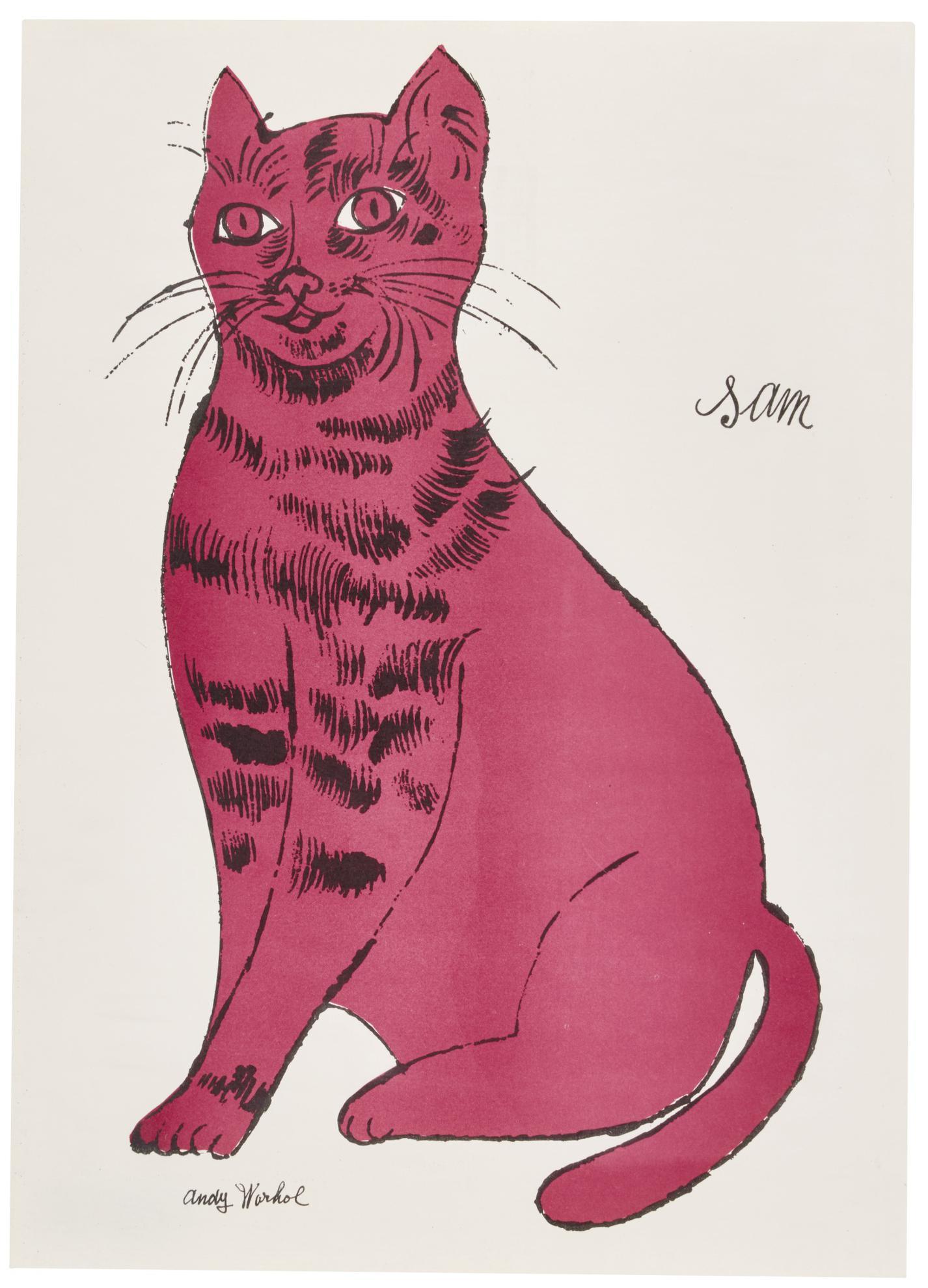 Andy Warhol-Sam (F. & S. IV.51)-1954