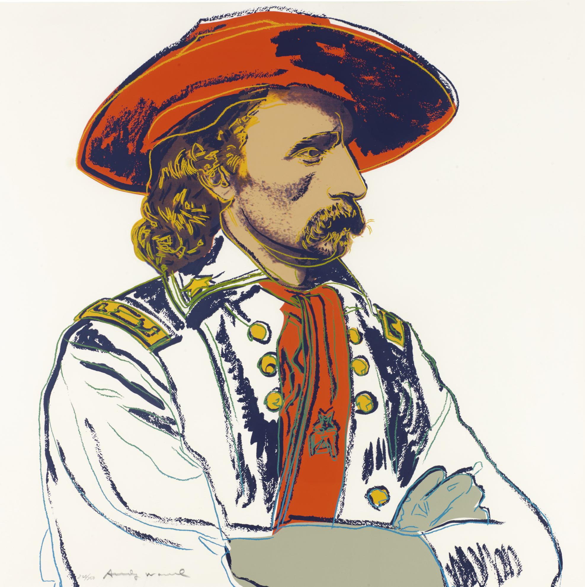 Andy Warhol-General Custer (F. & S. II.379)-1986