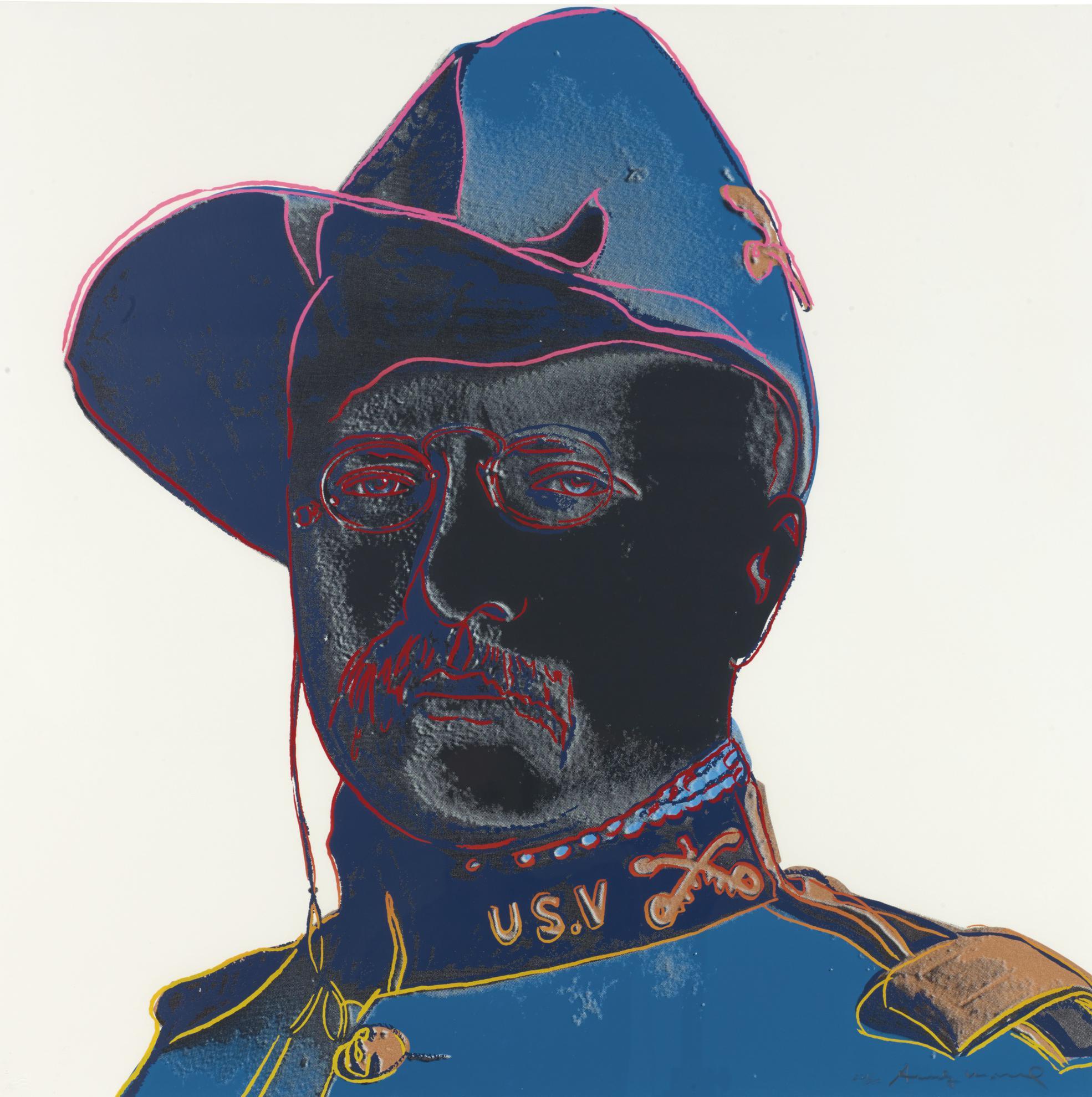 Andy Warhol-Teddy Roosevelt (F. & S. II.386)-1986