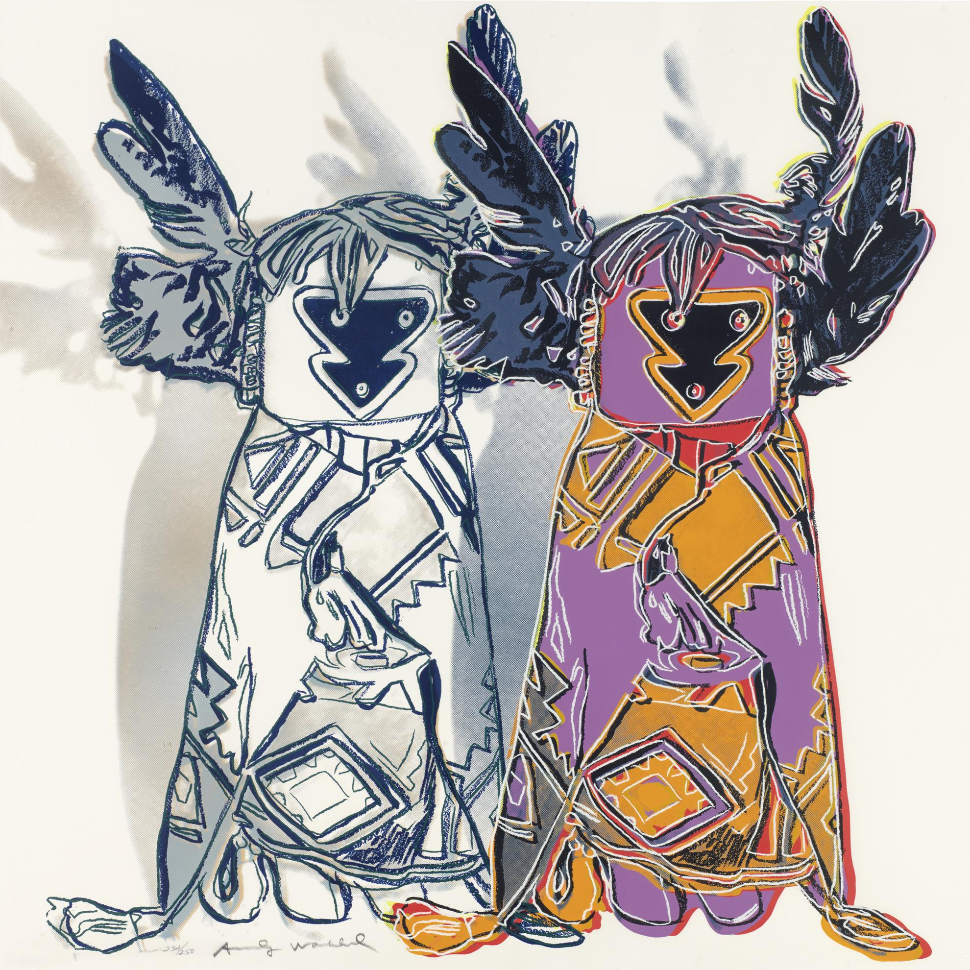 Andy Warhol-Kachina Dolls (F. & S. II.381)-1986