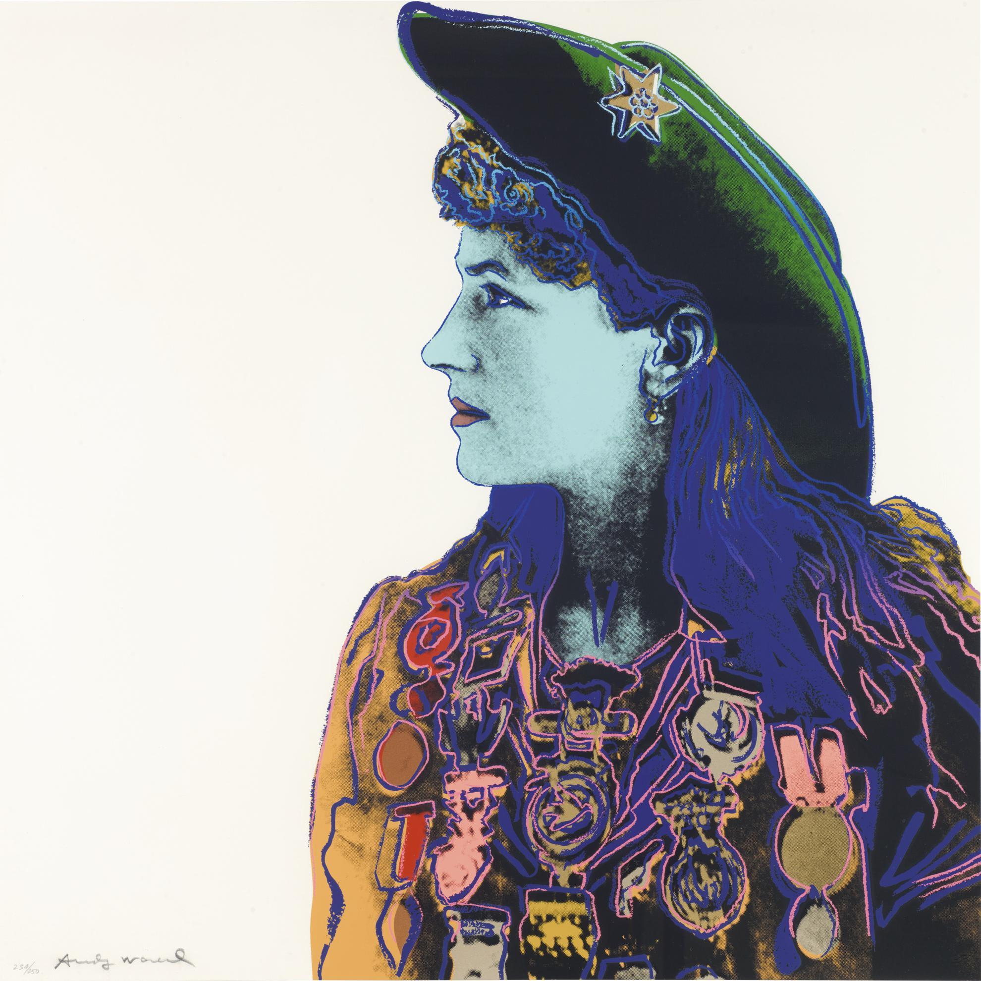 Andy Warhol-Annie Oakley (F. & S. II.378)-1986