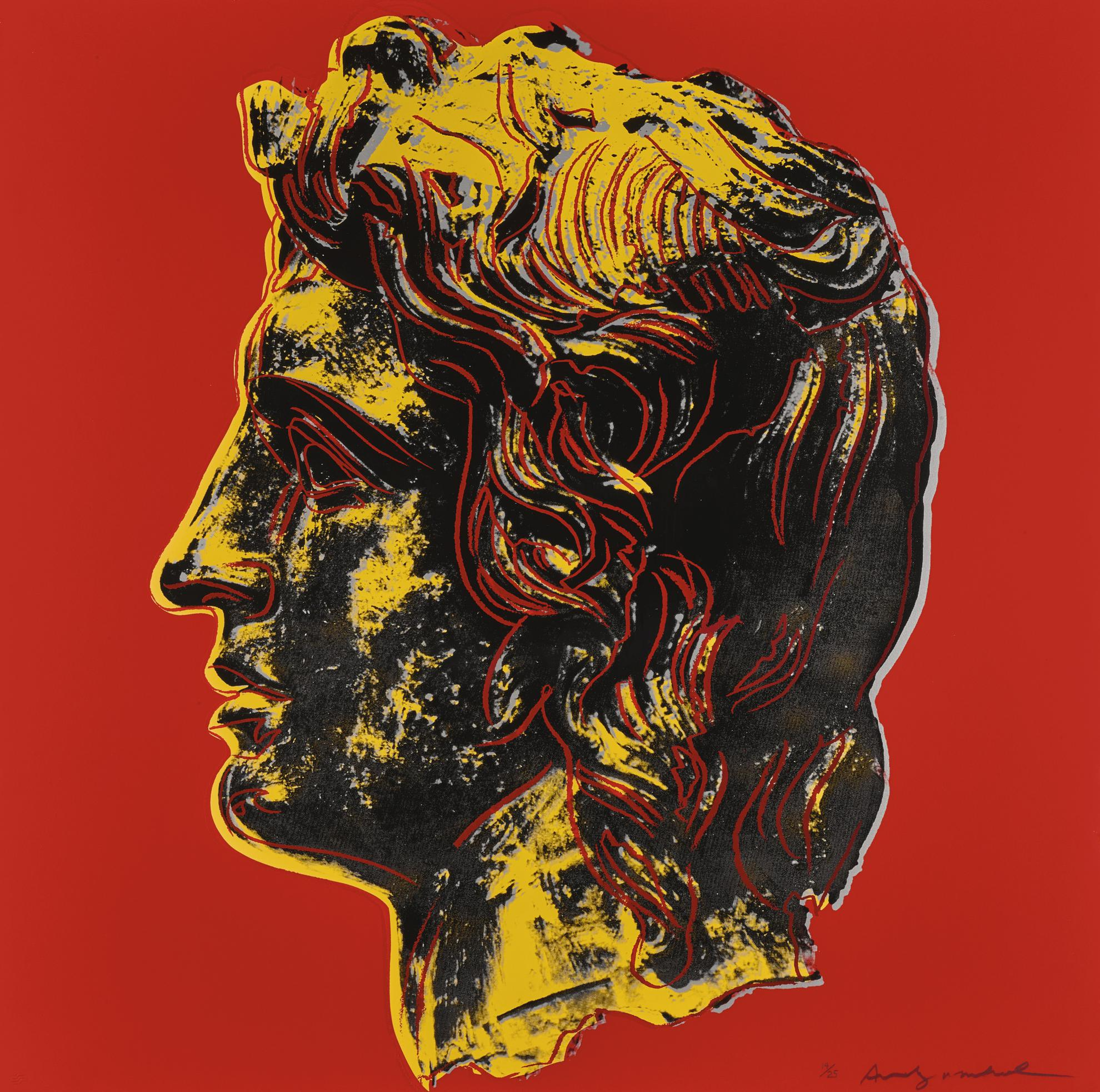 Andy Warhol-Alexander The Great (F. & S. II.292)-1982