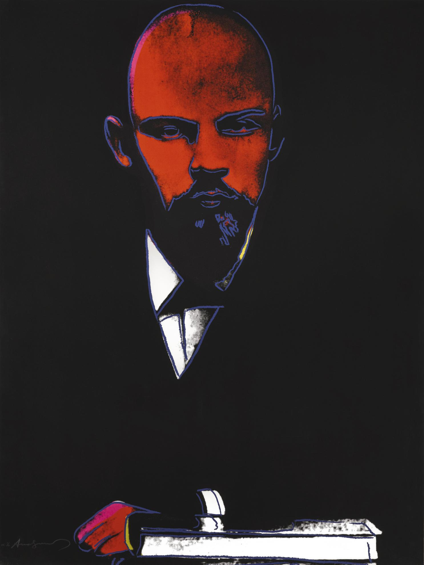 Andy Warhol-Lenin (F. & S. II.402)-1987