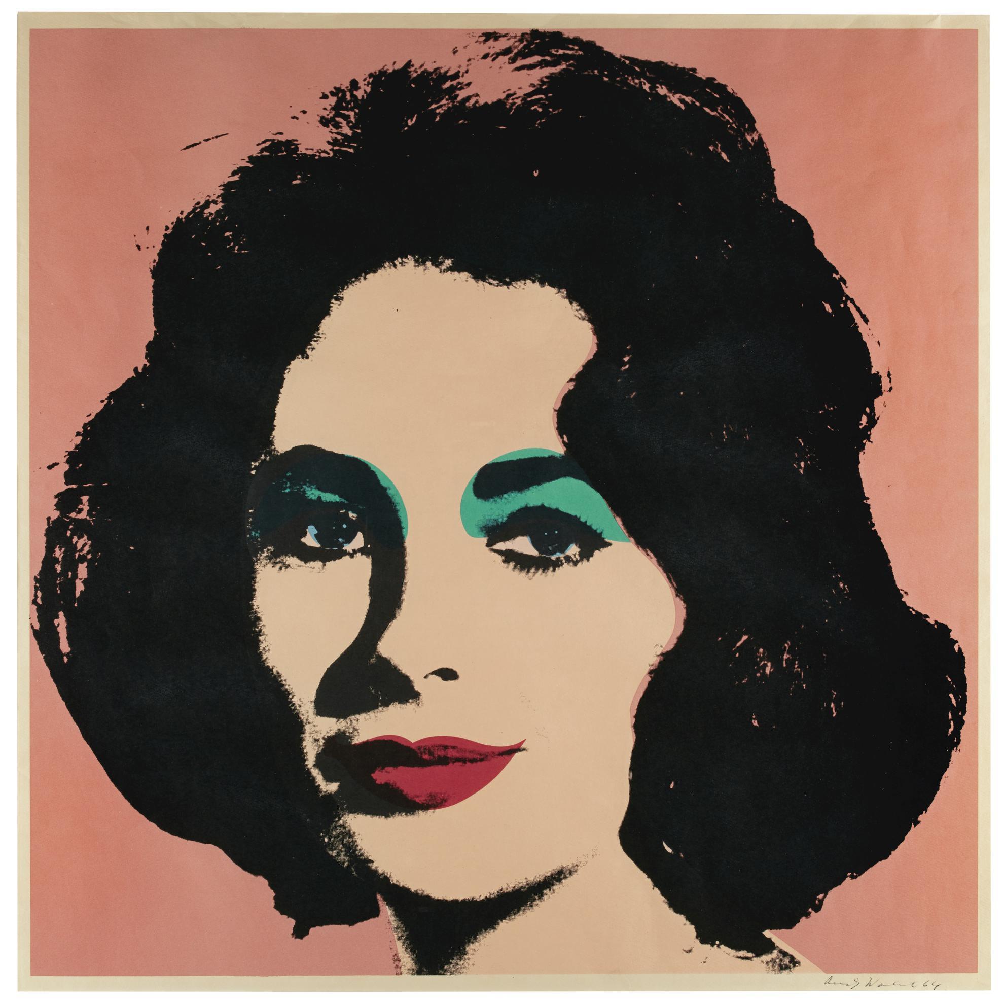 Andy Warhol-Liz (F. & S. II.7)-1964