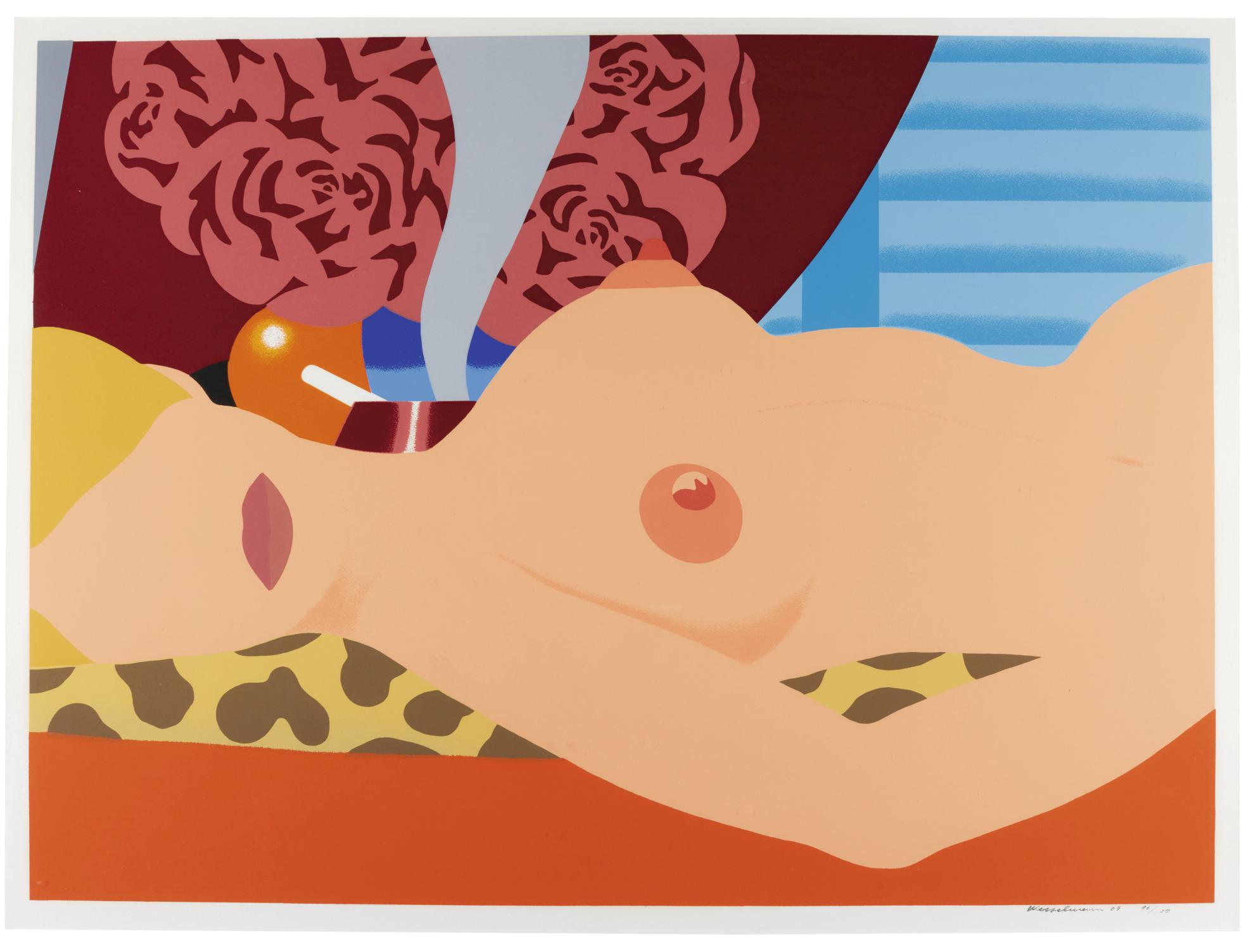 Tom Wesselmann-Nude (For Sedfre)-1969
