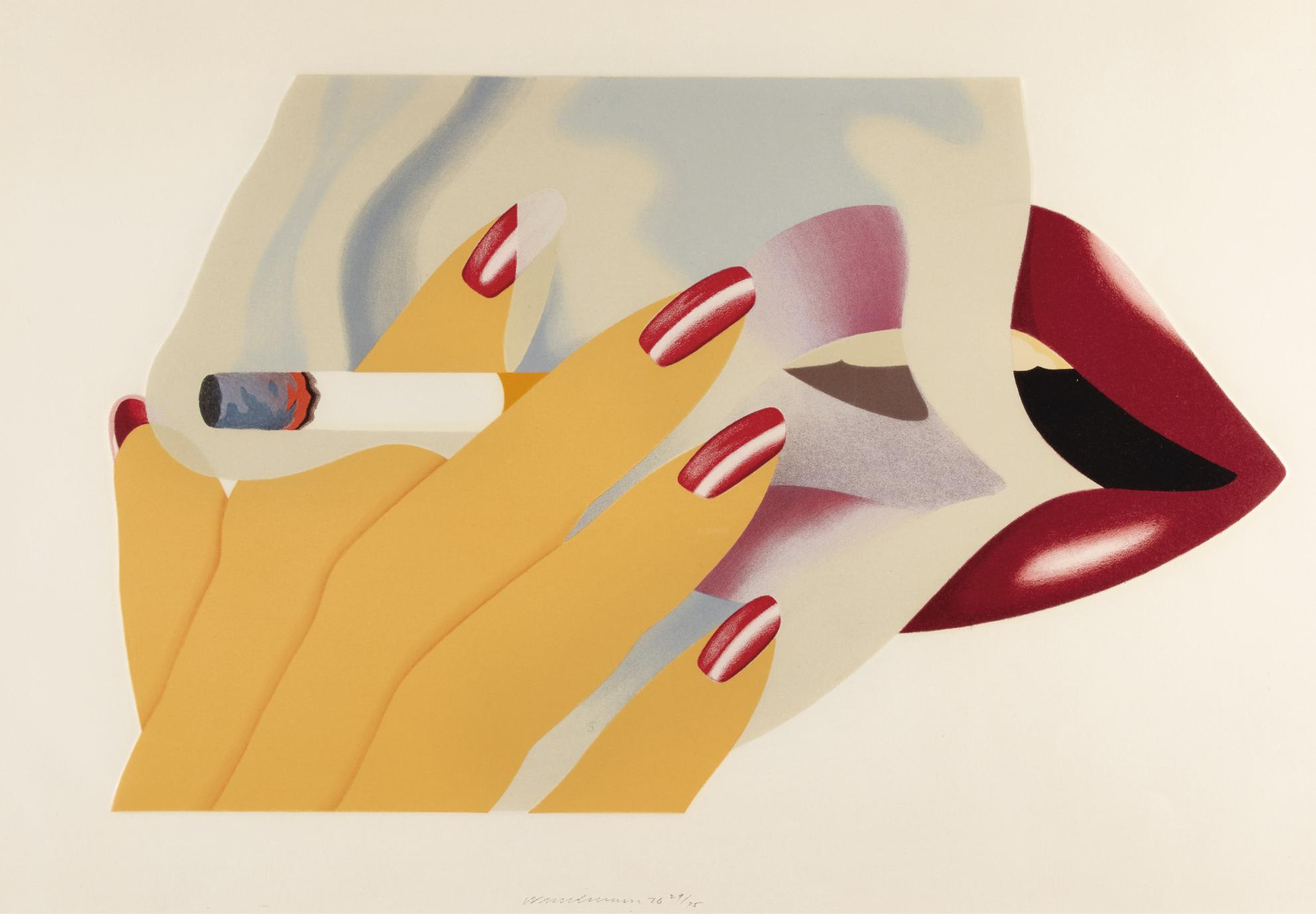 Tom Wesselmann-The Smoker-1976