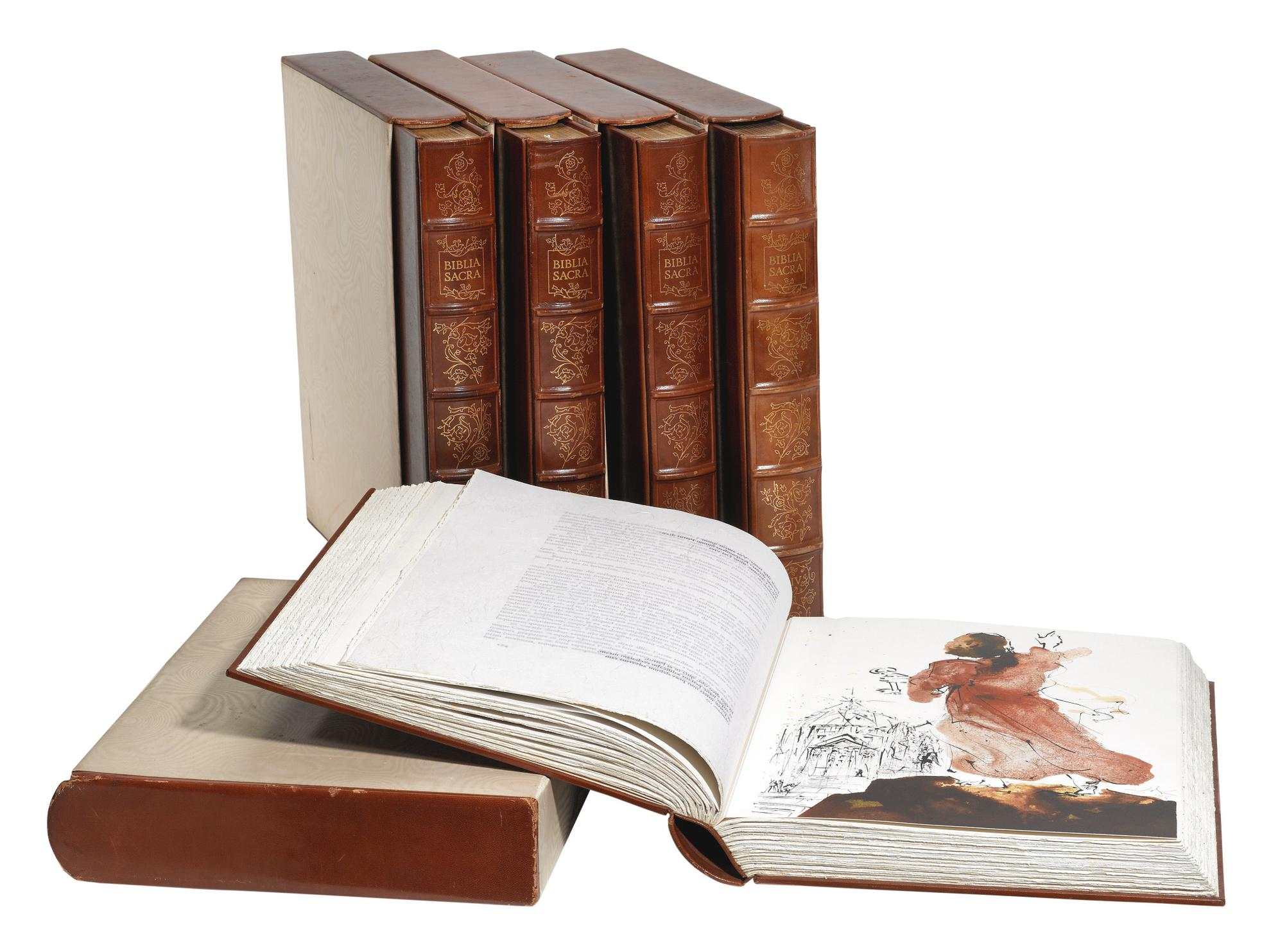 After Salvador Dali - Biblia Sacra (M. & L. 1600; F. 69.3)-1967