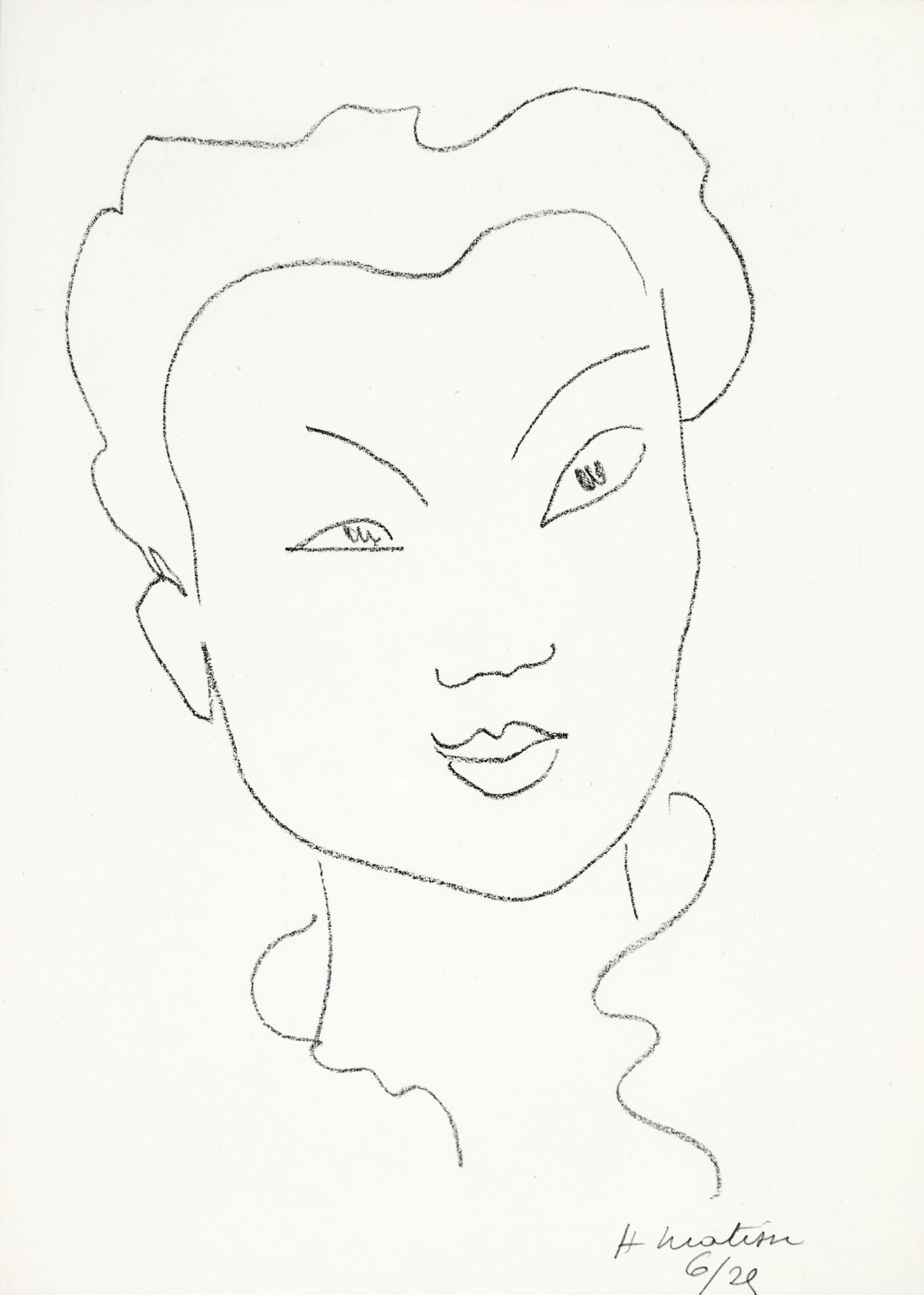 Henri Matisse-Jeune Chinoise (D. 621)-1947