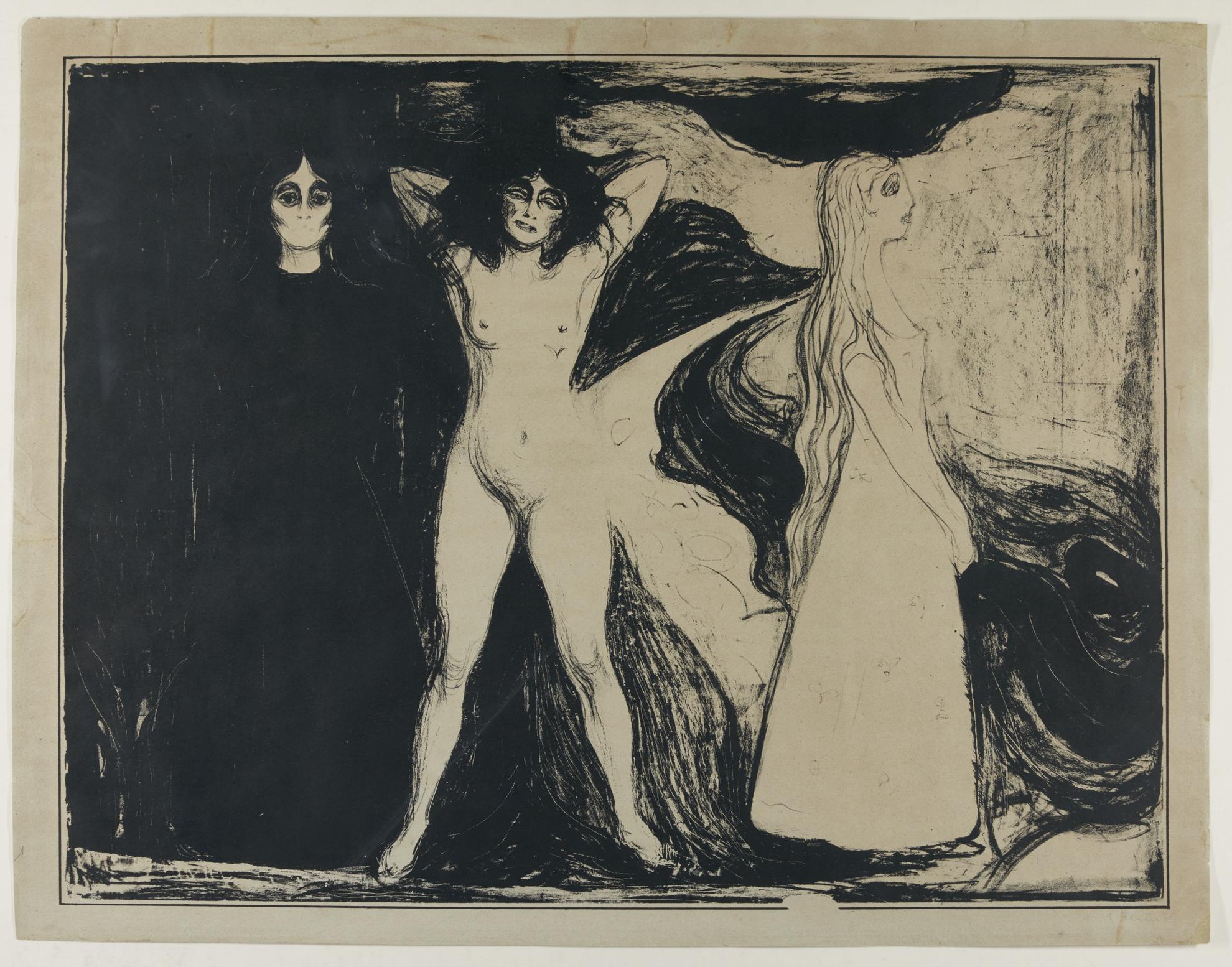 Edvard Munch-Woman (W. 147; Sch. 122)-1899