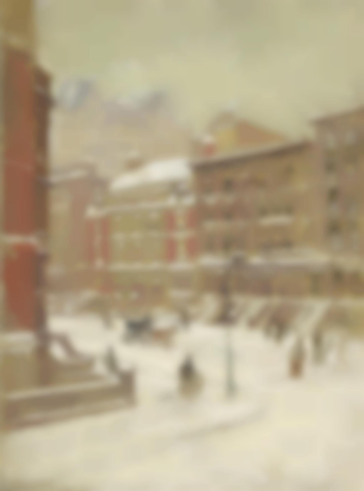 Paul Cornoyer - New York City Scene-