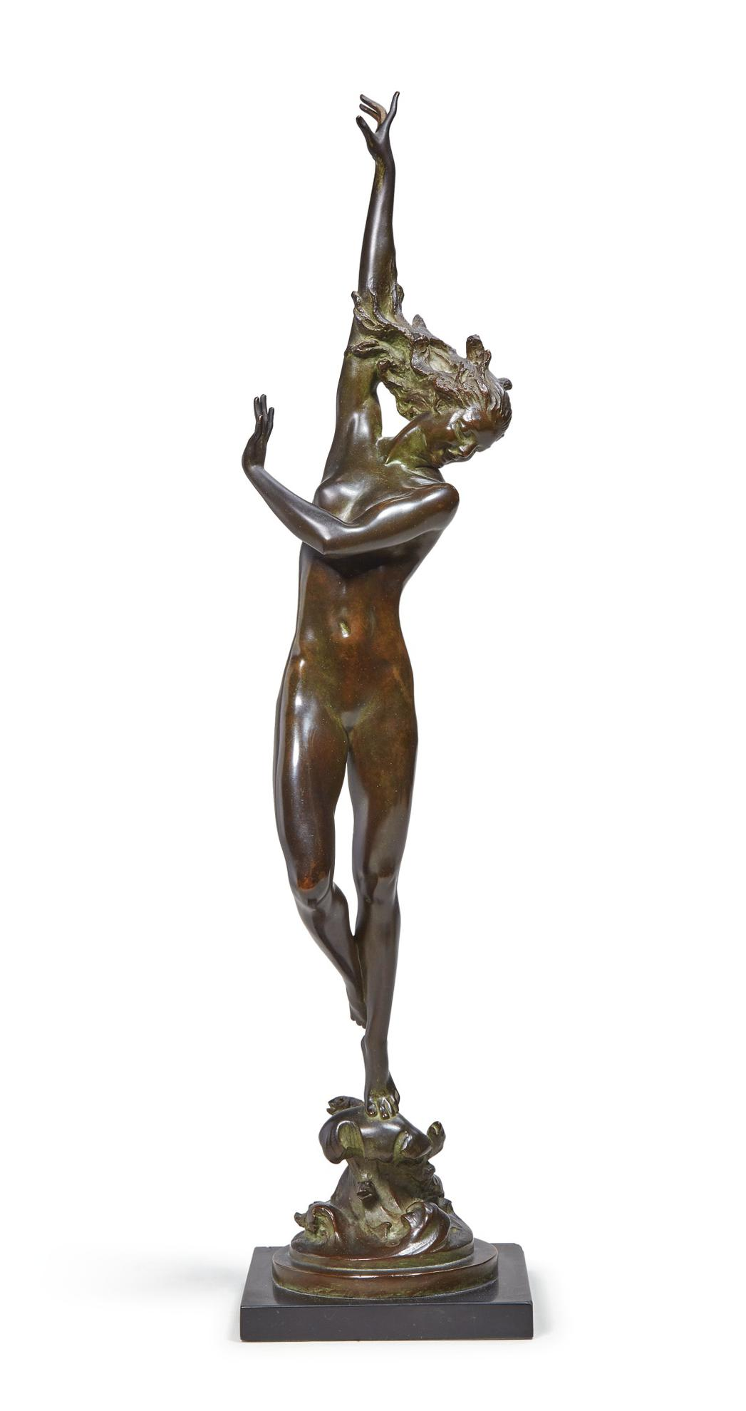 Harriet Whitney Frishmuth - Crest Of The Wave-1925