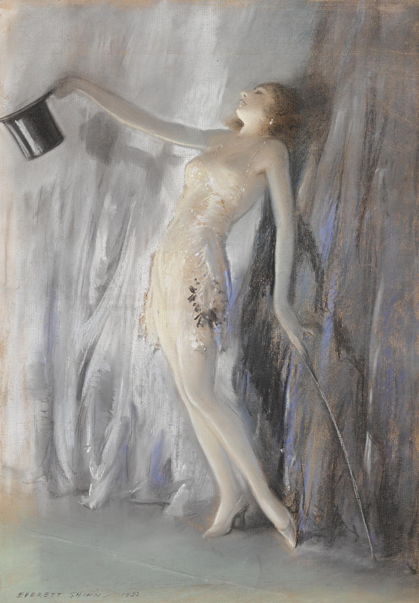 Everett Shinn - Curtain Call-1933