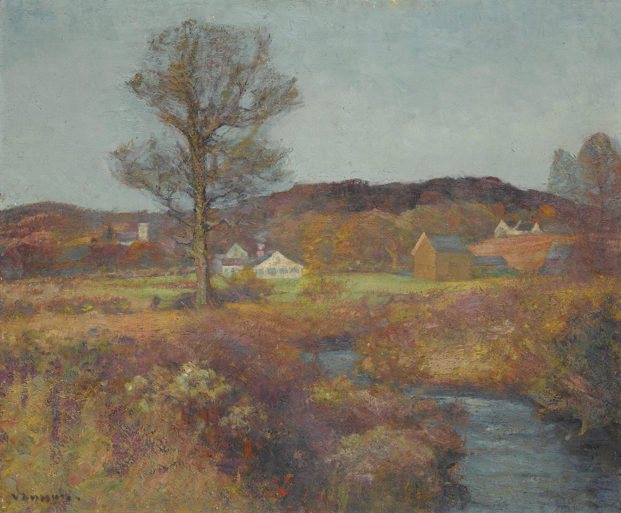 Robert William Vonnoh - New England Valley-