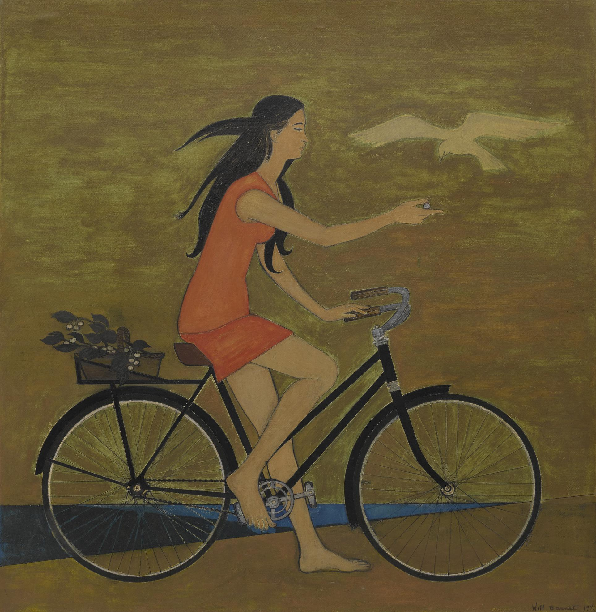 Will R. Barnet - Girl On A Bicycle-1971