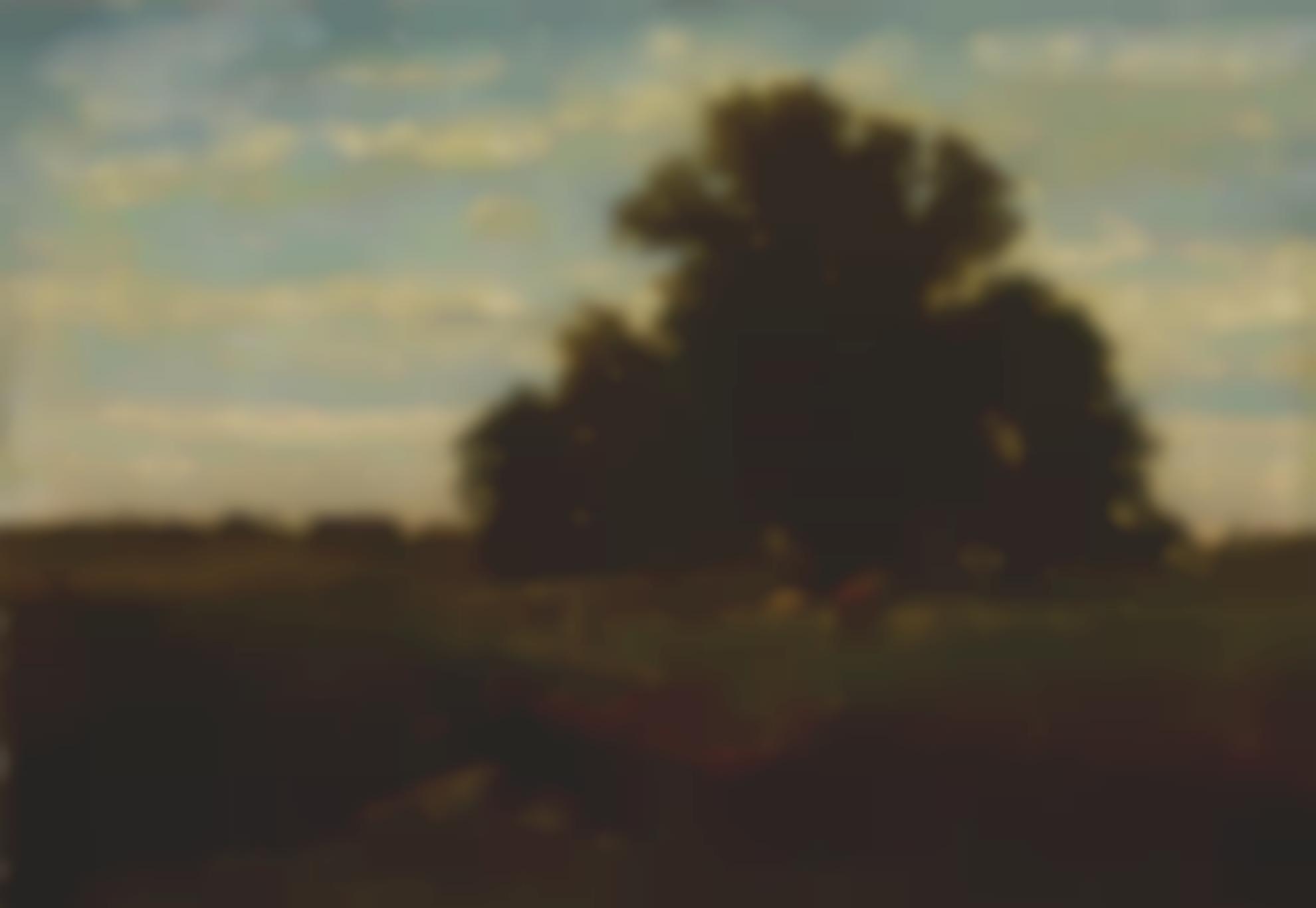 George Inness - The Oaks, Durham-1862