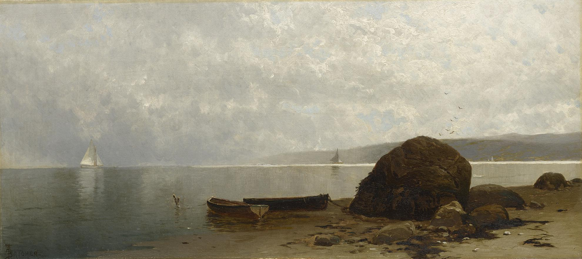 Alfred Thompson Bricher - Hazy Coast-