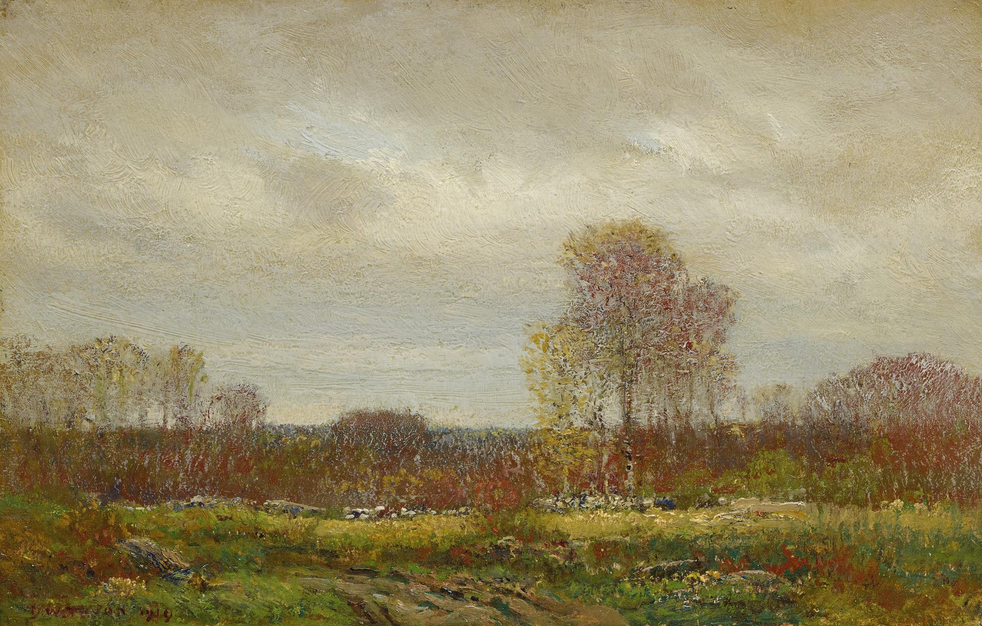 Dwight William Tryon - October Day-1919